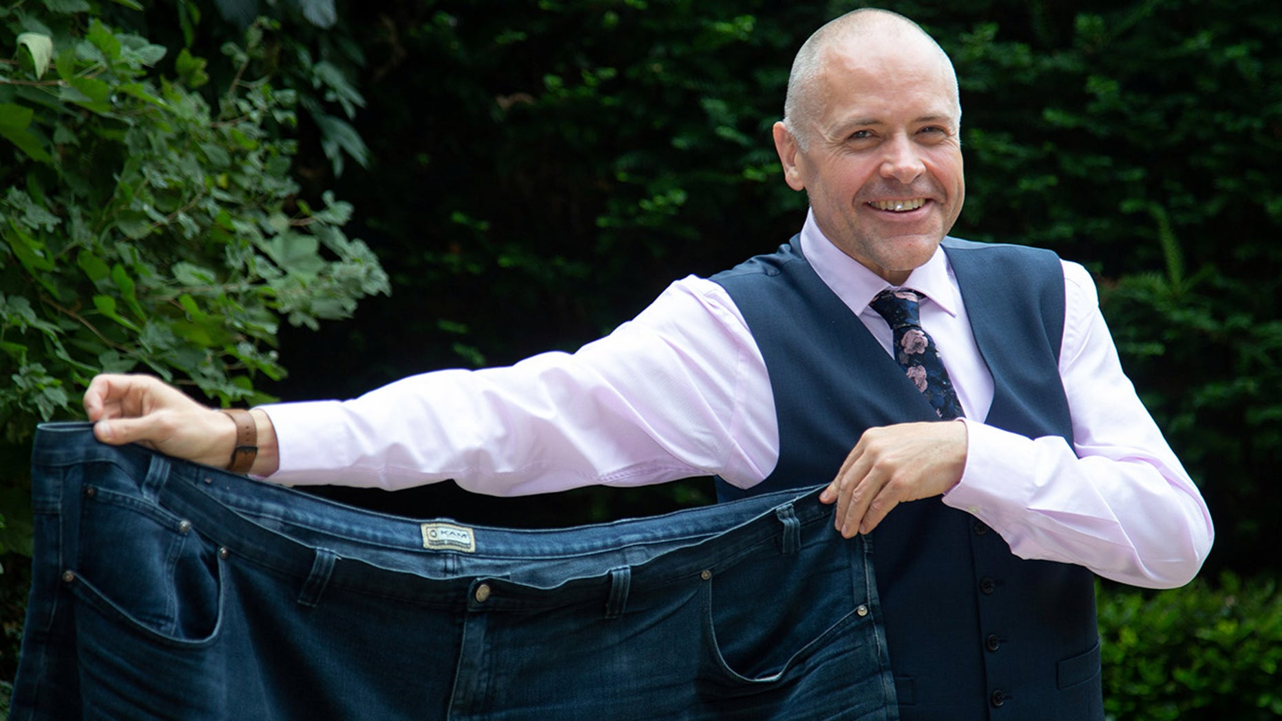 Dave Lancaster changed his diet and lifestyle two years ago, which ultimately transformed his life.