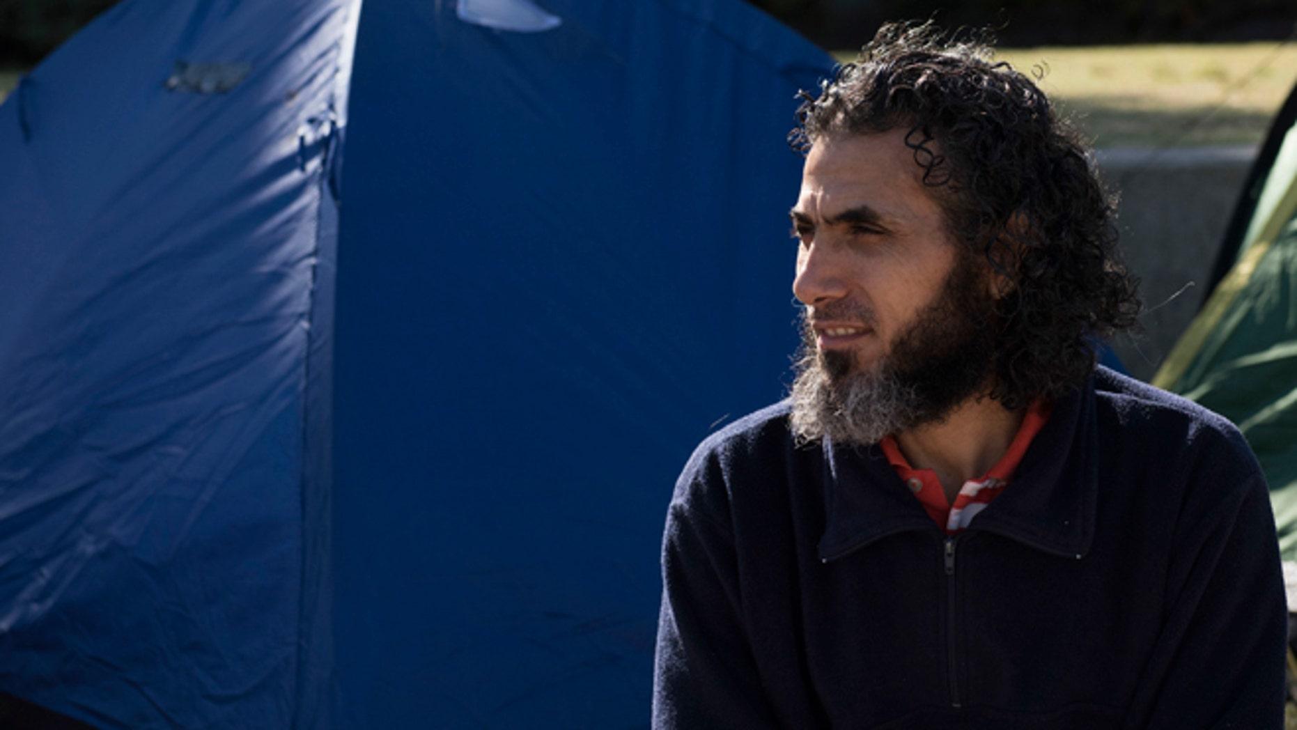 Former Guantanamo detainee Abu Wa'el Dhiab in a May 5, 2015 photo.