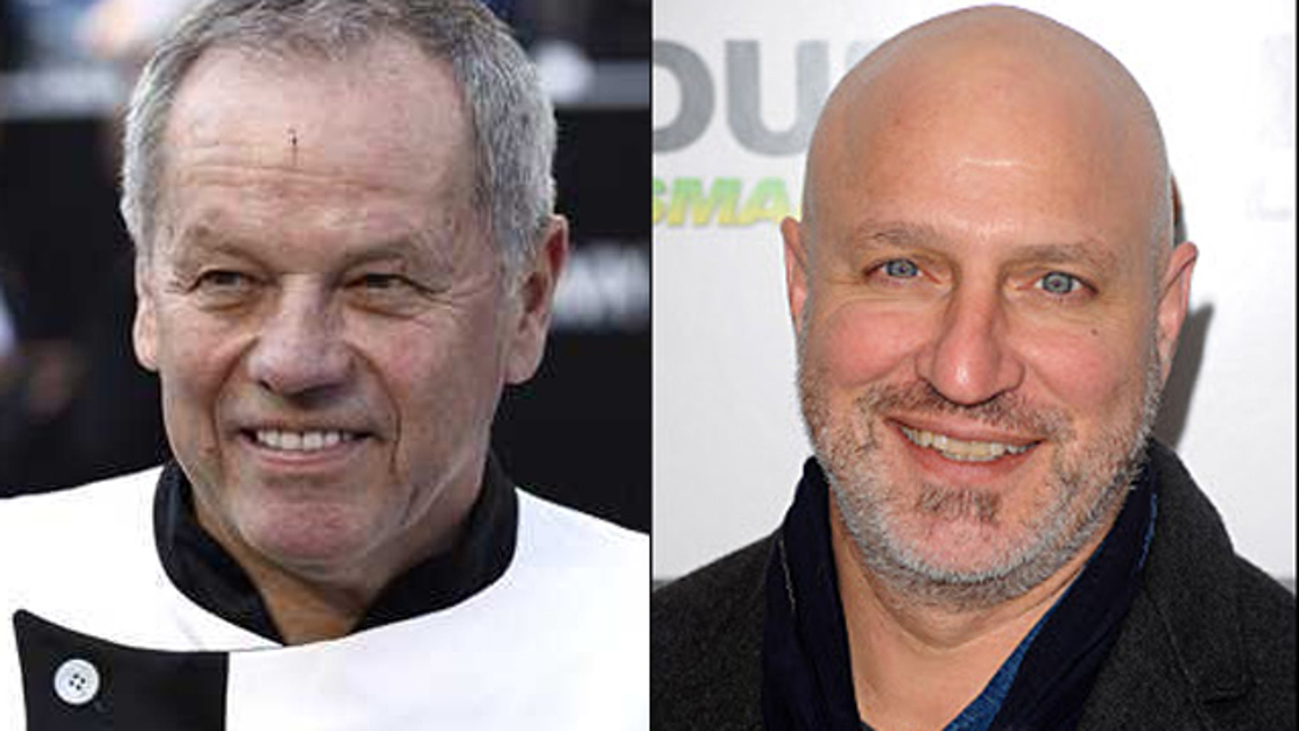 Wofgang Puck and Tom Colicchio