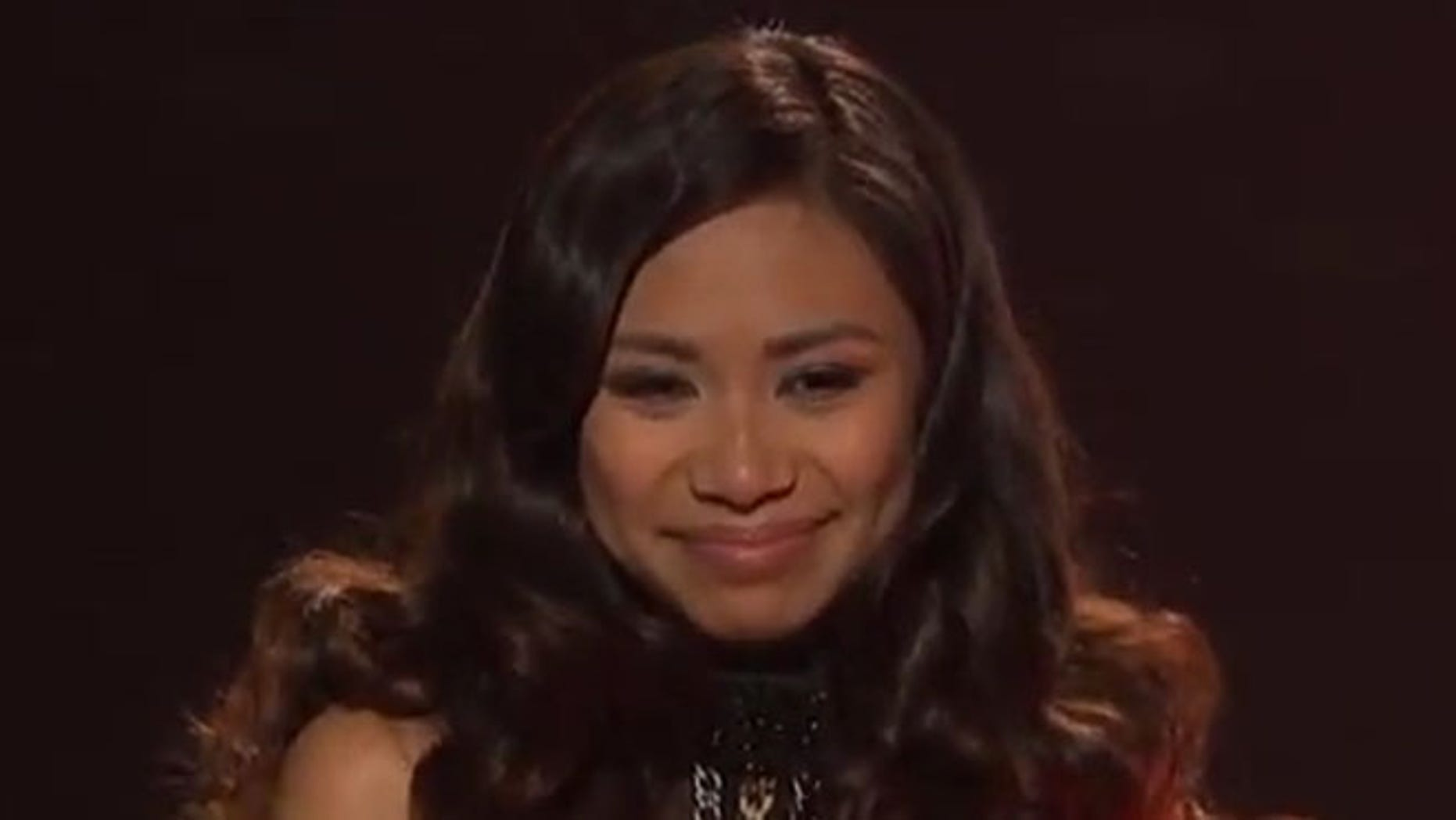 Jessica Sanchez on American Idol.