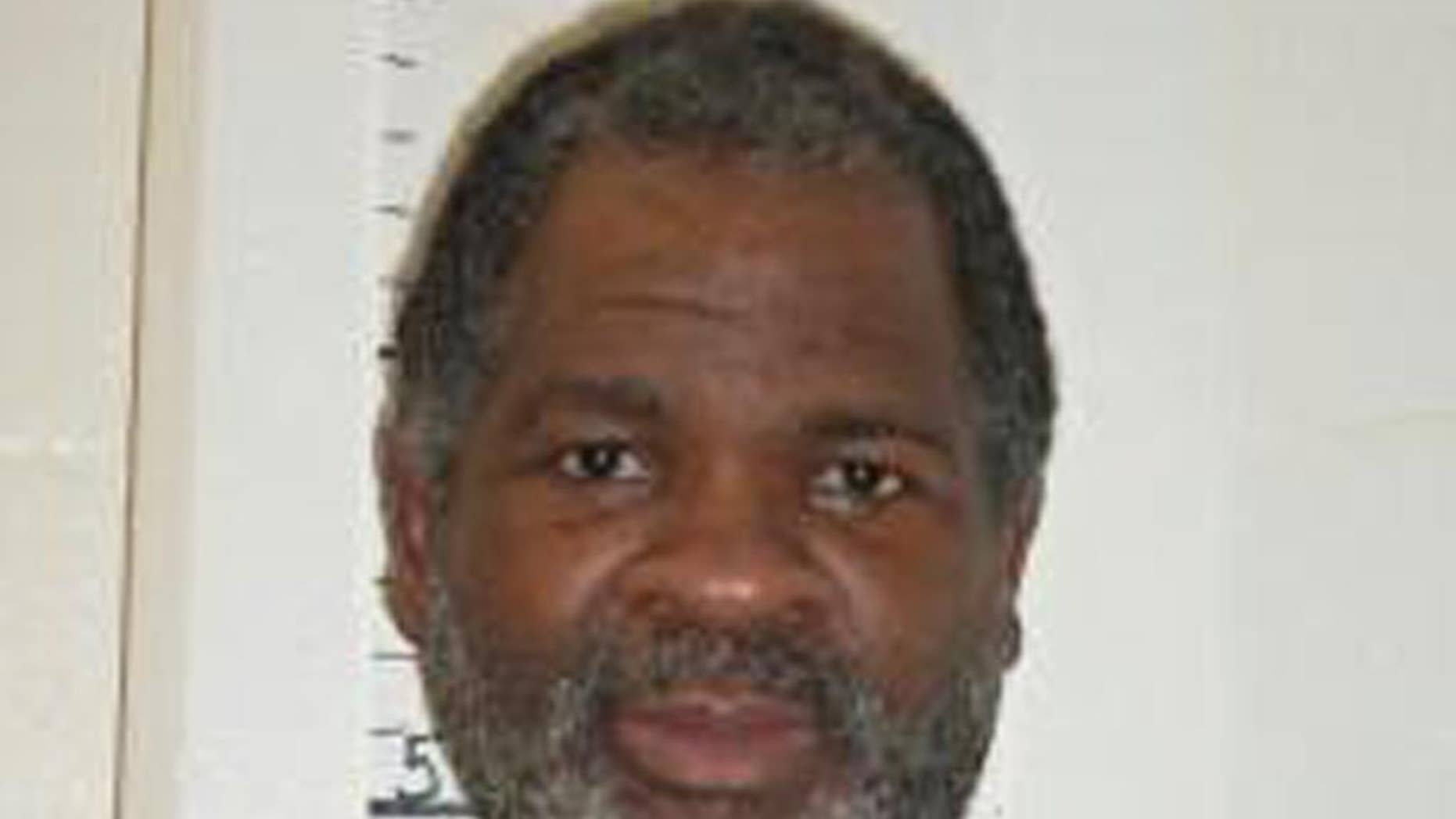 This Feb. 9, 2014 photo provided by the Missouri Department of Corrections shows Missouri death row inmate Richard Strong. Strong was convicted of fatally stabbing his girlfriend and her 2-year-old daughter 15 years ago in suburban St. Louis. (Missouri Department of Corrections via AP)
