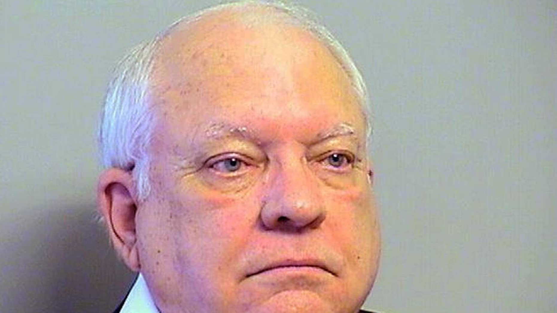 This Tuesday, April 14, 2015 photo provided by the Tulsa County, Oklahoma, Sheriff's Office shows Robert Bates. The 73-year-old Oklahoma reserve sheriff's deputy, who authorities said fatally shot a suspect after confusing his stun gun and handgun, was booked into the county jail Tuesday on a manslaughter charge. Bates surrendered to the Tulsa County Jail and was released after posting $25,000 bond. (Tulsa County Sheriff's Office via AP)