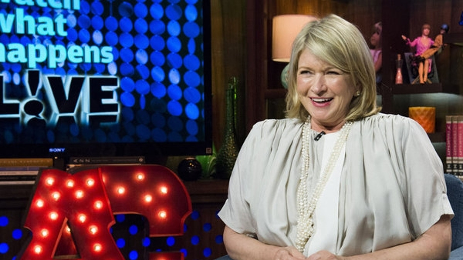 "Martha Stewart appears on ""Watch What Happens Live."""