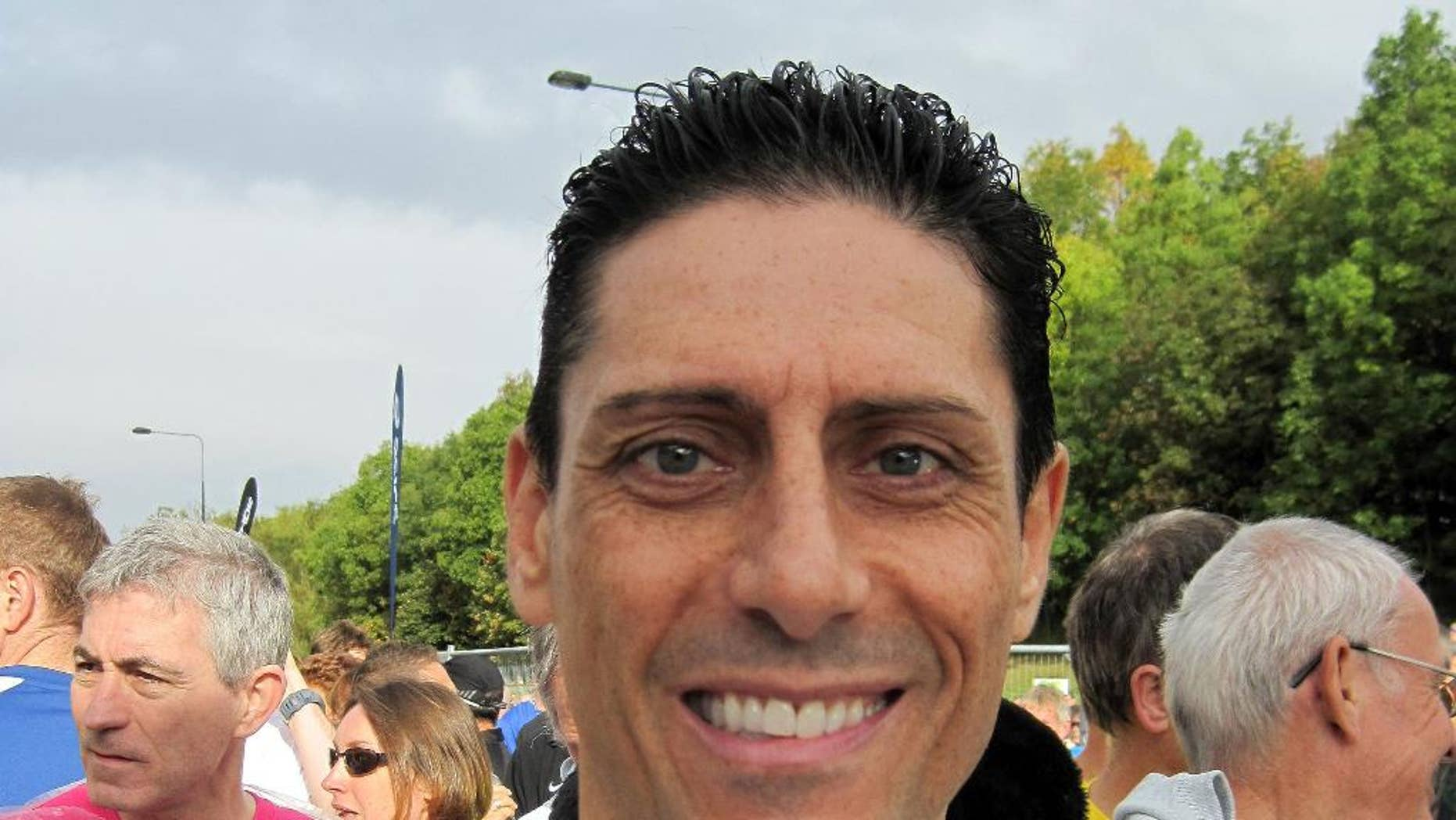 """This is a Sept. 18, 2011 file photo of CJ de Mooi. Quiz-show champion CJ de Mooiwho who appeared on the long-running BBC show """"Eggheads"""" has been arrested on suspicion of committing murder in the Netherlands"""