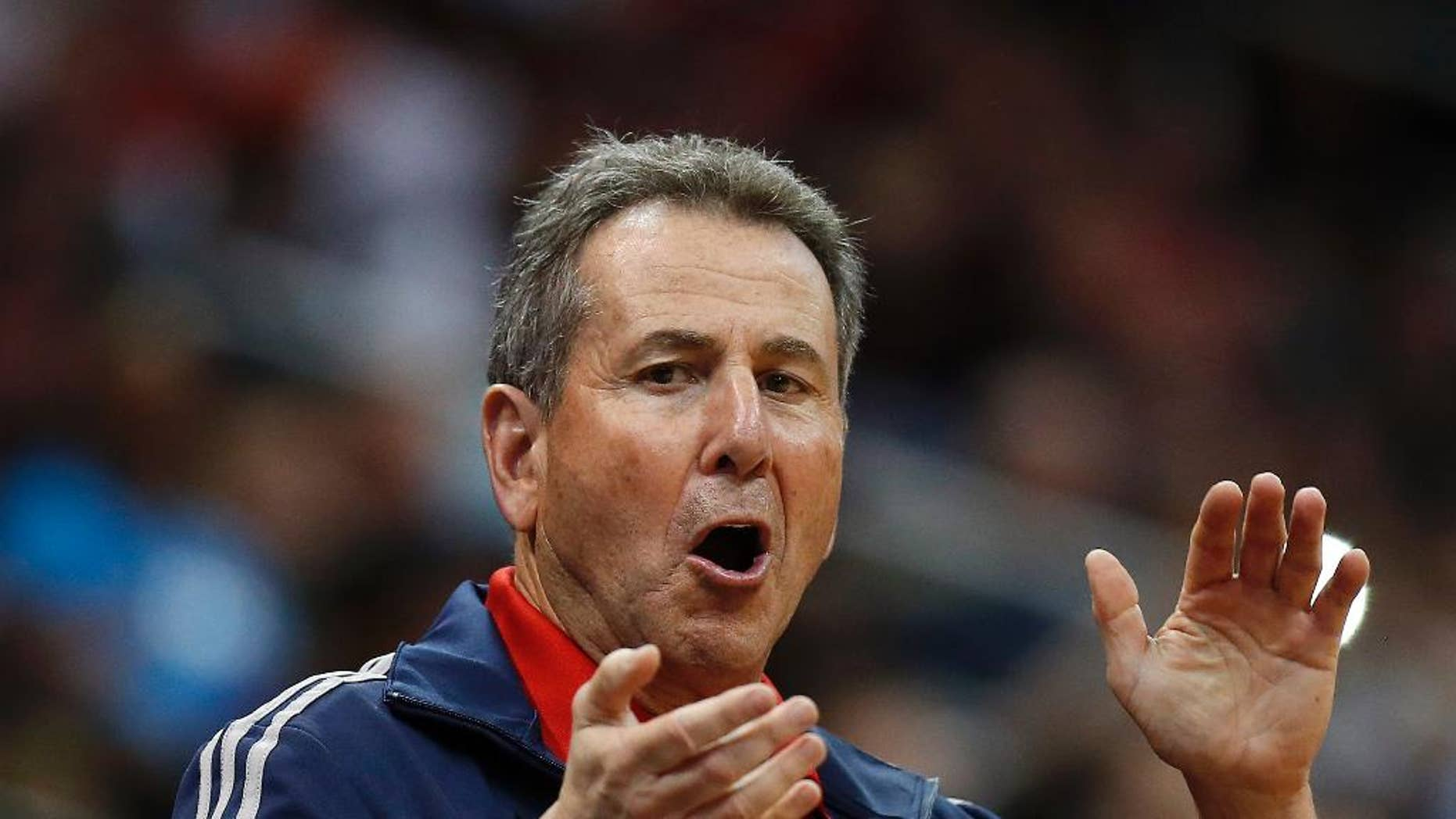 Atlanta Hawks co-owner Bruce Levenson on an April 26, 2014 file photo,
