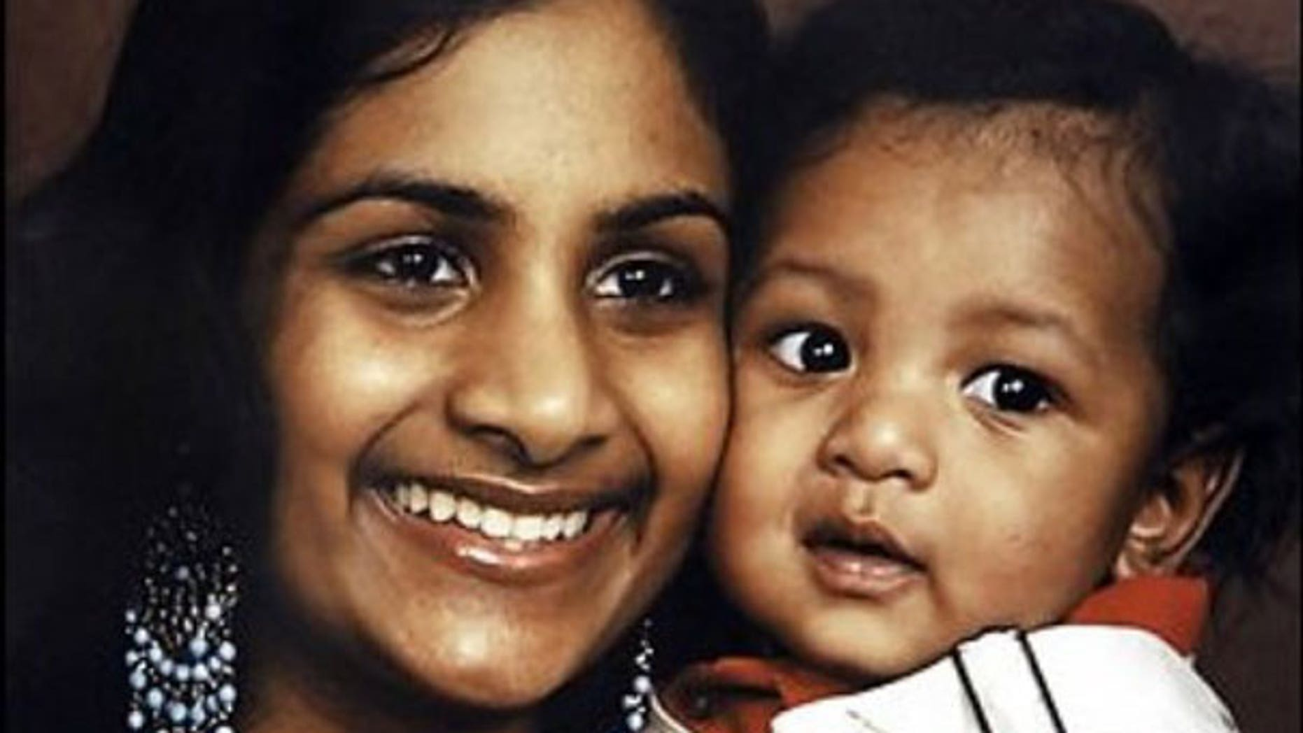 FILE: Ria Ramkissoon and her son Javon Thompson, whom she starved at the behest of a Baltimore cult leader.