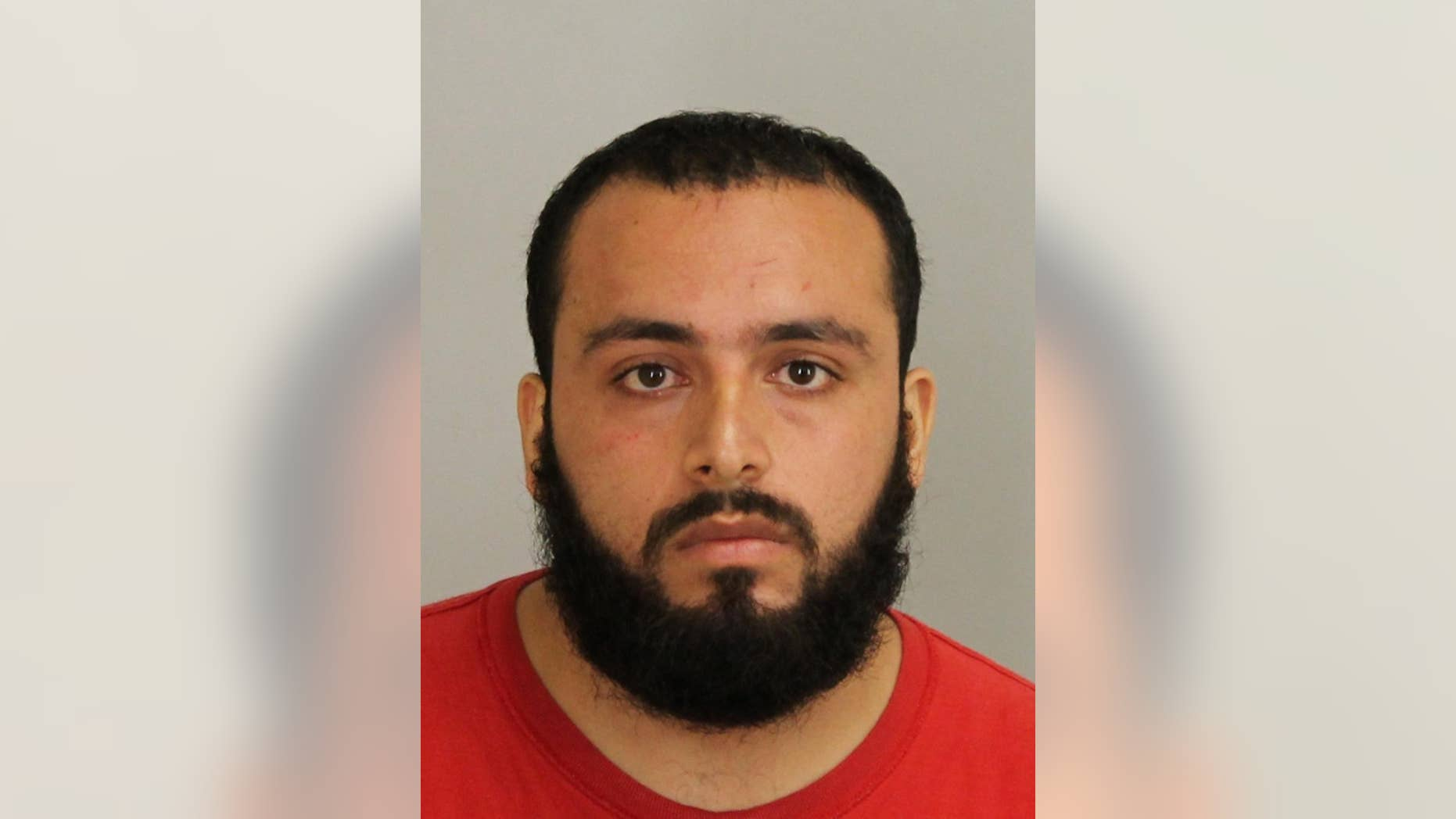 FILE - This Sept. 2016 file photo provided by Union County Prosecutor's Office shows Ahmad Khan Rahimi. He has an appearance Thursday, Nov. 10 in Manhattan federal court to face charges of detonating a pressure cooker bomb in New York City on Sept. 17 that injured more than 30 people. (Union County Prosecutor's Office via AP, File)