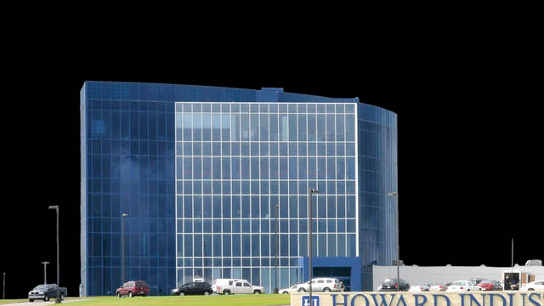 Federal immigration agents raided Howard Industries headquarters, seen here in the Ellisville Industrial Park in Laurel, Miss., as members of the Homeland Security ICE team investigate if the company was using undocumented workers Monday, Aug. 25, 2008. Howard Industries produces dozens of products, ranging from electrical transformers to medical supplies, according to the company's Web site. (AP Photo/George Clark)