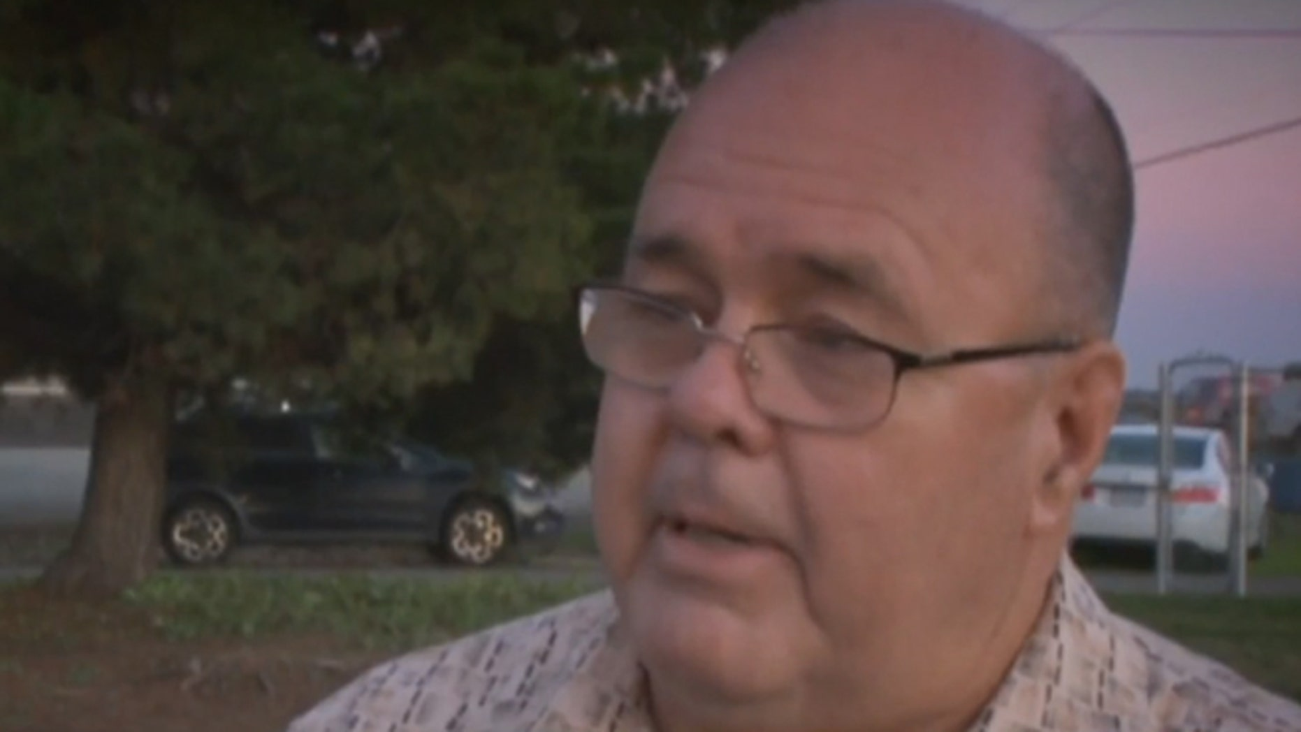 Stewart Perry is the father of fallen Army soldier John Perry. (KOVR-TV)