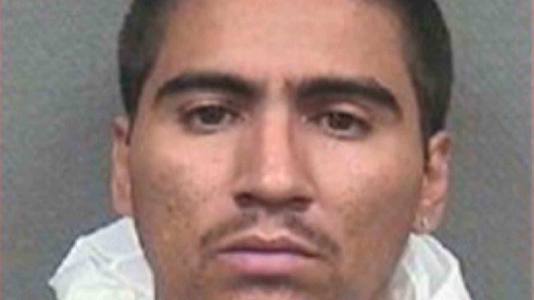 Noe Morin, 32, was arrested after police found a dismembered body outside a vacant house