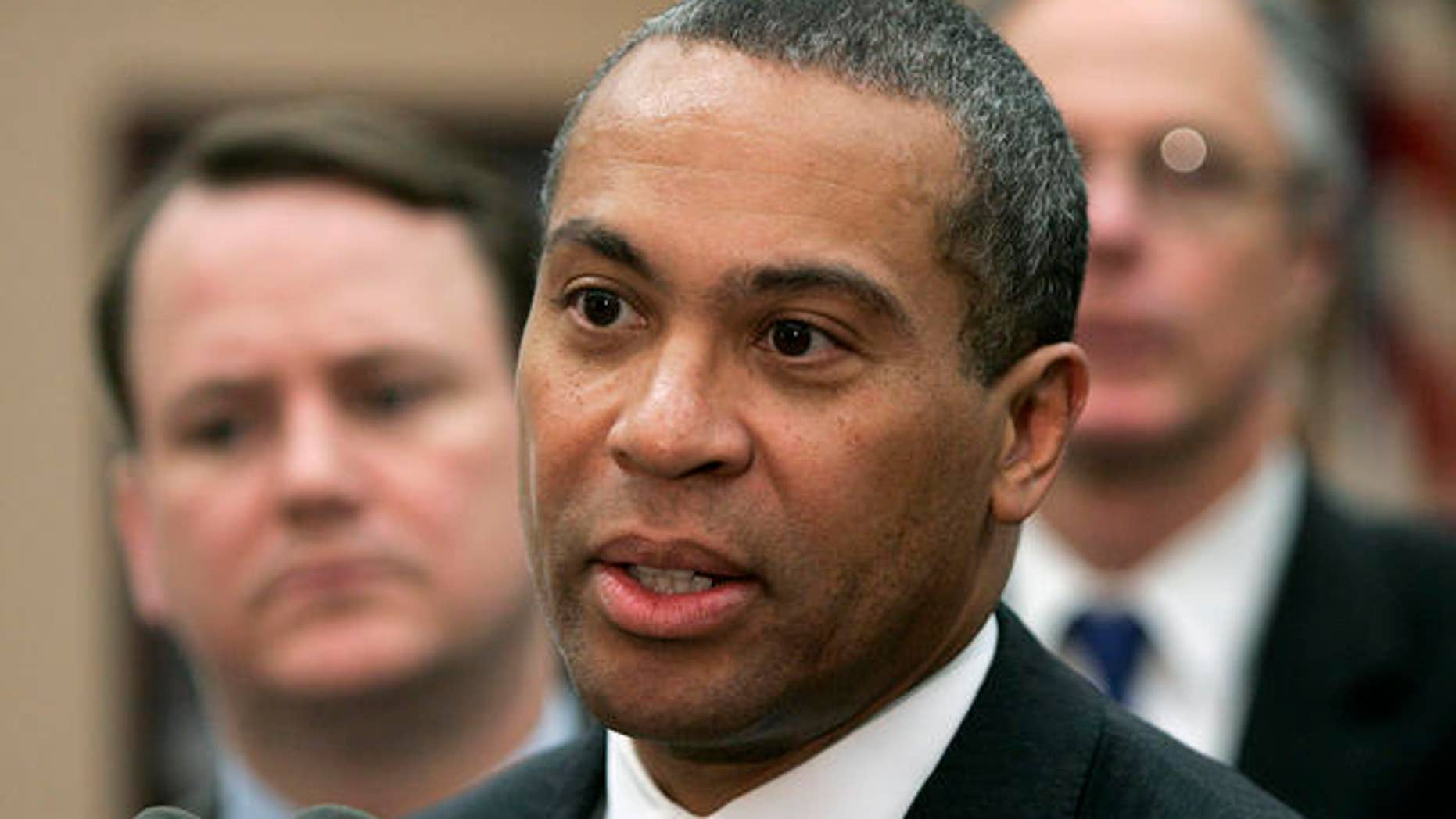 Deval Patrick enters the fight for the 2020 Democratic nomination
