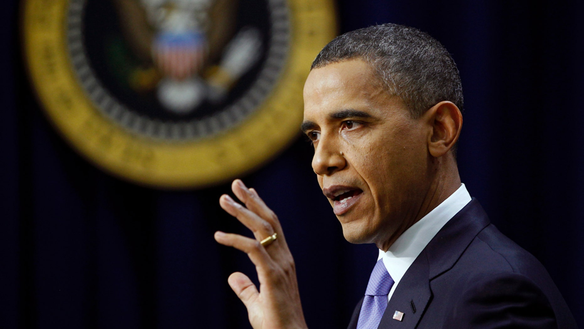 President Barack Obama answers a question during a news conference on the White House complex, Wednesday, Dec. 22, 2010, in Washington. (AP Photo/Evan Vucci)