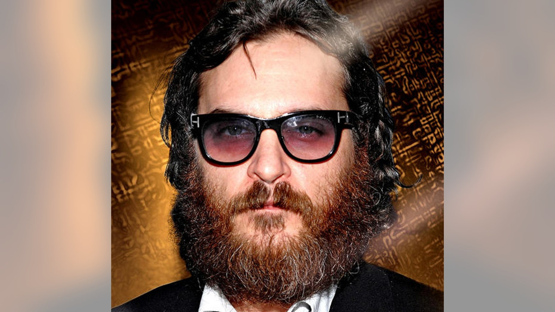Actor Joaquin Phoenix attends a special screening of 'Two Lovers' hosted by The Cinema Society at the Landmark Sunshine Cinema, Wednesday, Feb. 11, 2009 in New York. (AP Photo/Evan Agostini)