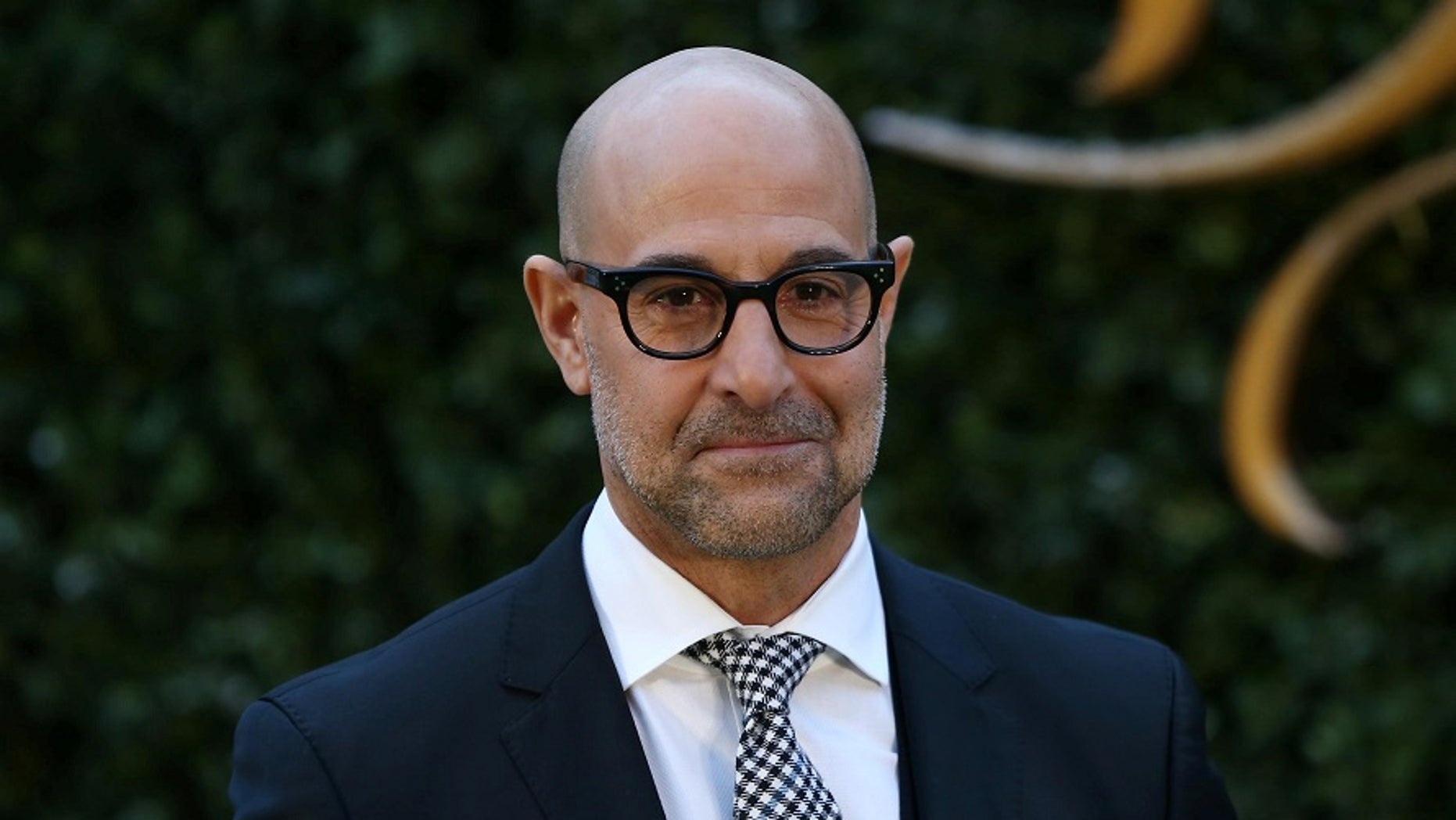 """Stanley Tucci forgot in an interview on the """"Lorraine"""" morning show that he worked alongside Emma Thompson before."""