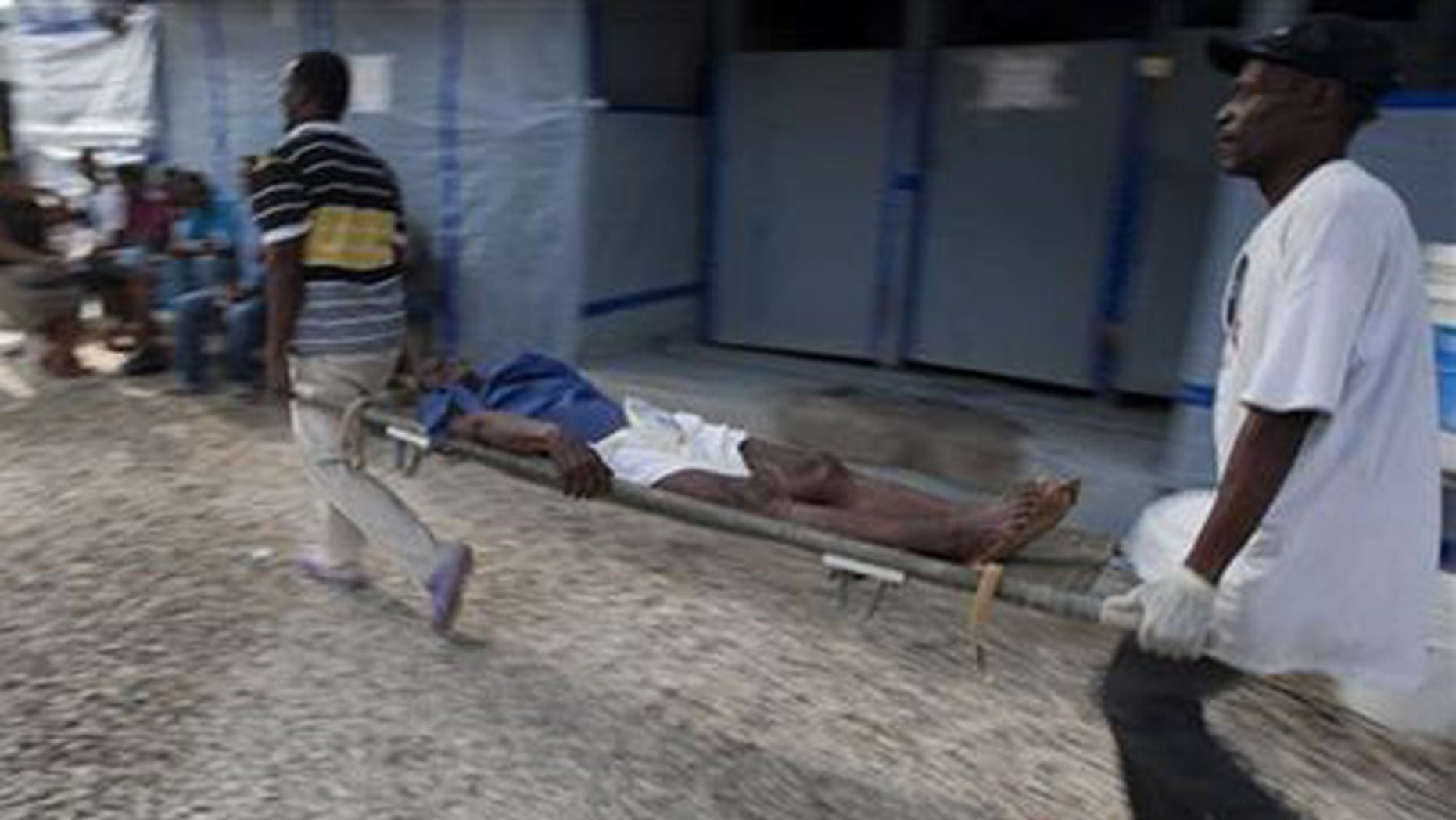 The ongoing cholera outbreak in Haiti has killed more than 8,000 and sickened hundreds of thousands. (AP)