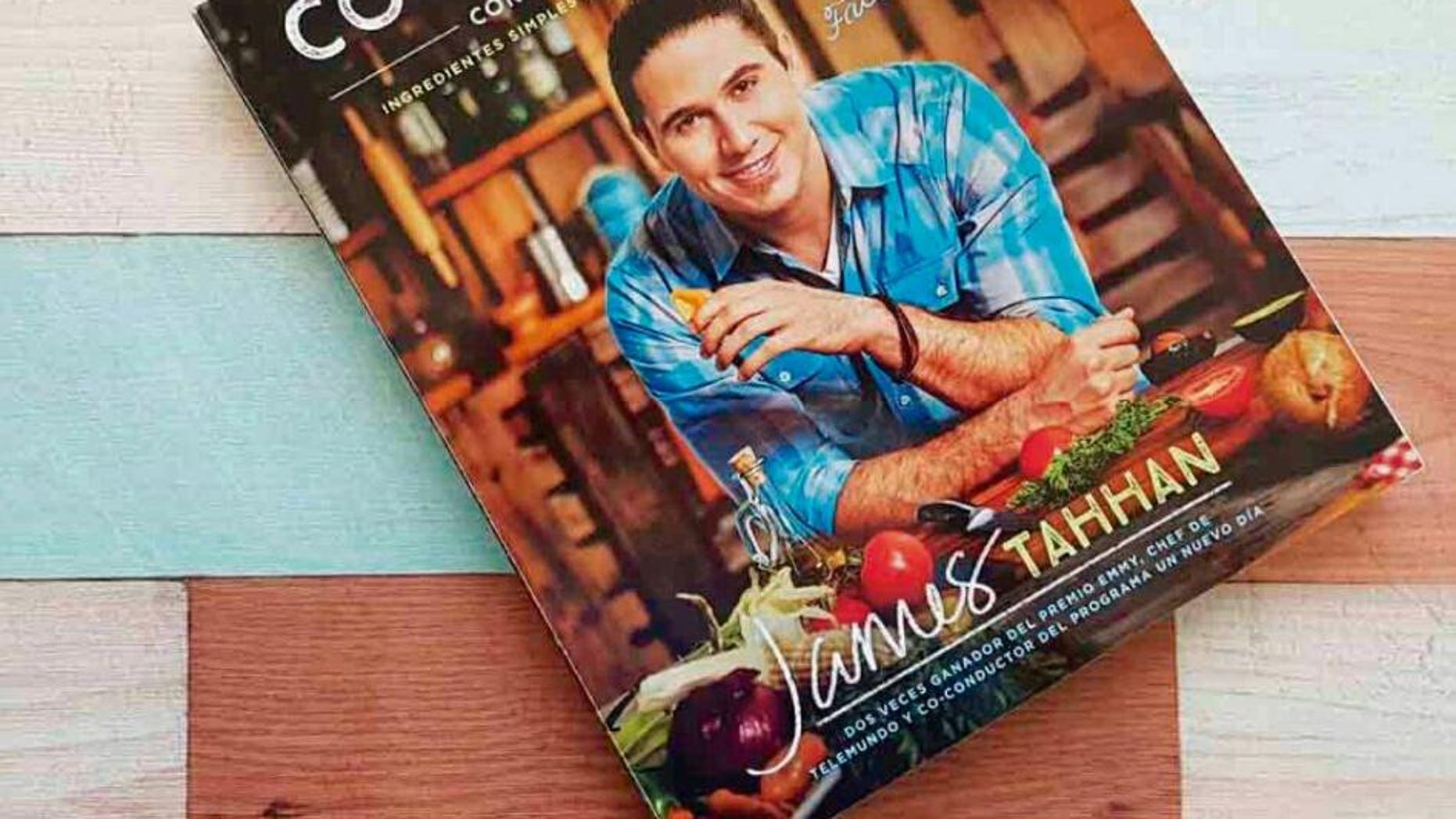 James Tahhan, a celebrity chef, reportedly apologized for a gesture he made while on air.