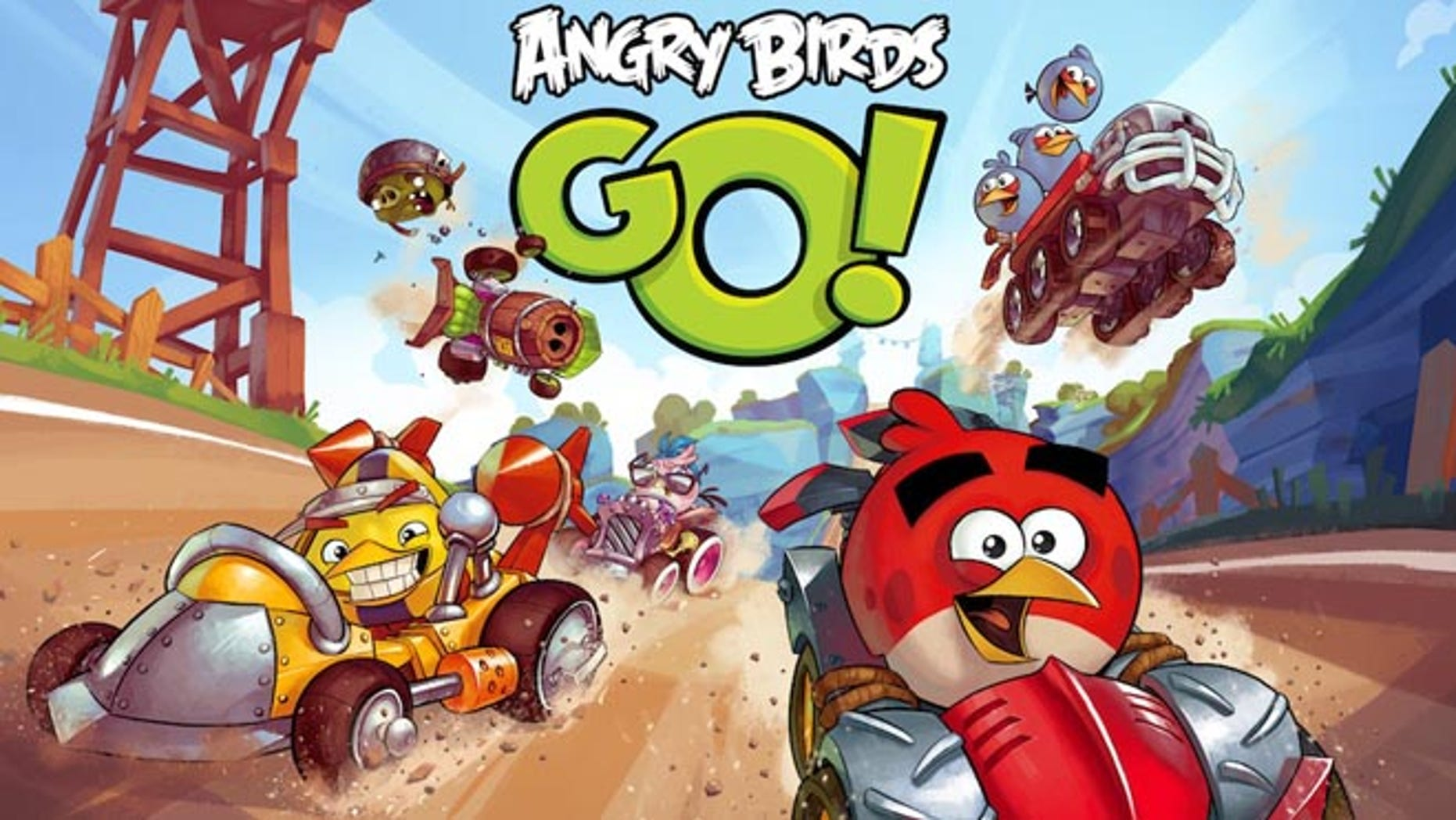 In a first for the Angry Birds series, the forthcoming Angry Birds Go! title will feature high-octane downhill racing, upgradable karts, tons of characters with unique special powers and a fully rendered 3D world.