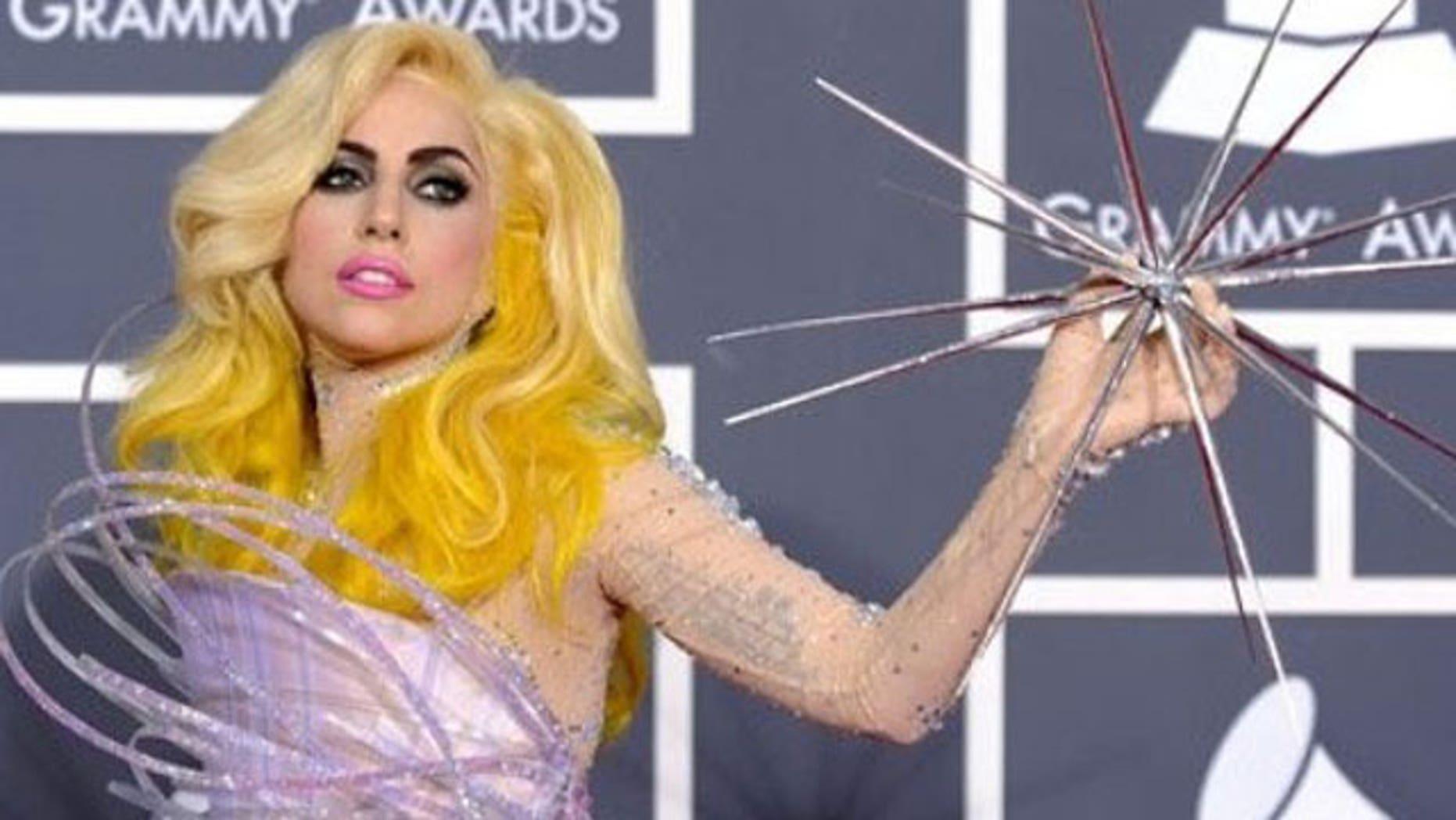 Lady Gaga has been named one of Vanity Fair's best dressed stars.