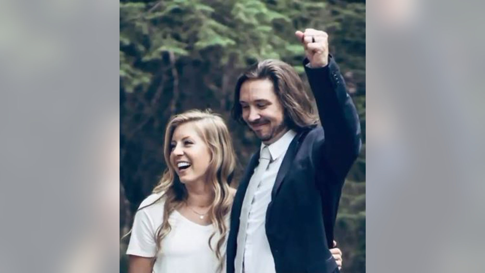 Utah newlyweds Amy Moffat (L), 28, and Stephen Graham, 30, died in a Washington accident, reports said.