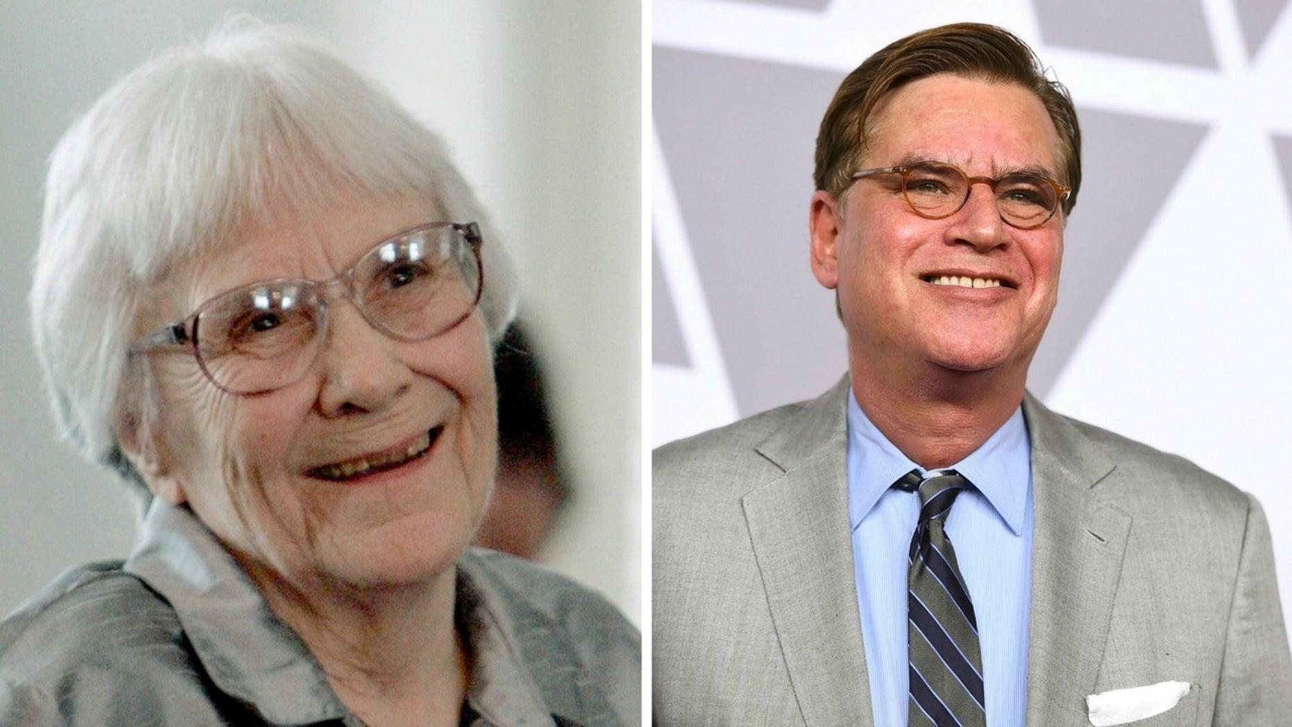 "Harper Lee's estate is suing over Aaron Sorkin's ""To Kill a Mockingbird"" Broadway version."