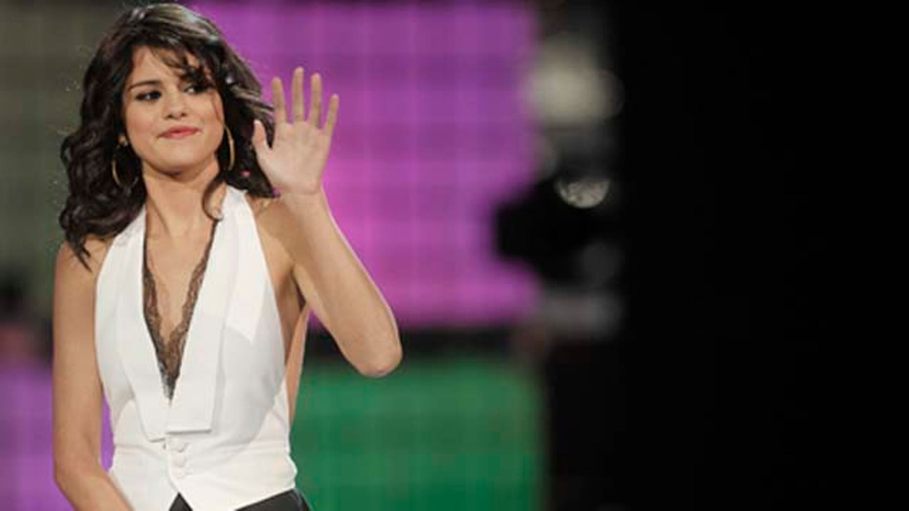 June 19, 2011: Selena Gómez on stage at the 22nd Annual Much Music Video Awards at the Much Music HQ  in Toronto, Canada.