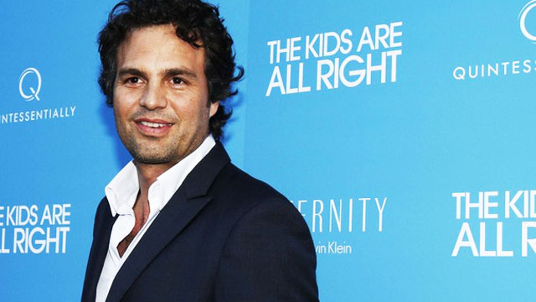 "June 30: Cast member Mark Ruffalo poses as he arrives for ""The Kids Are All Right"" film premiere in New York."