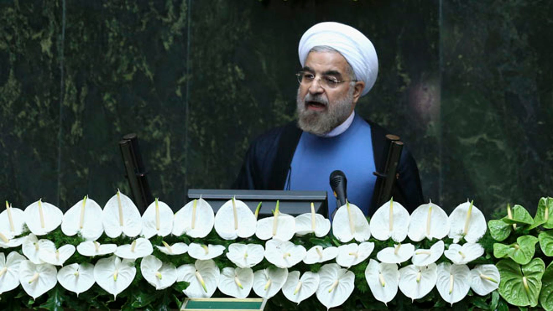 """Executions have risen sharply under """"moderate"""" new Iranian President Hasan Rouhani. (AP)"""