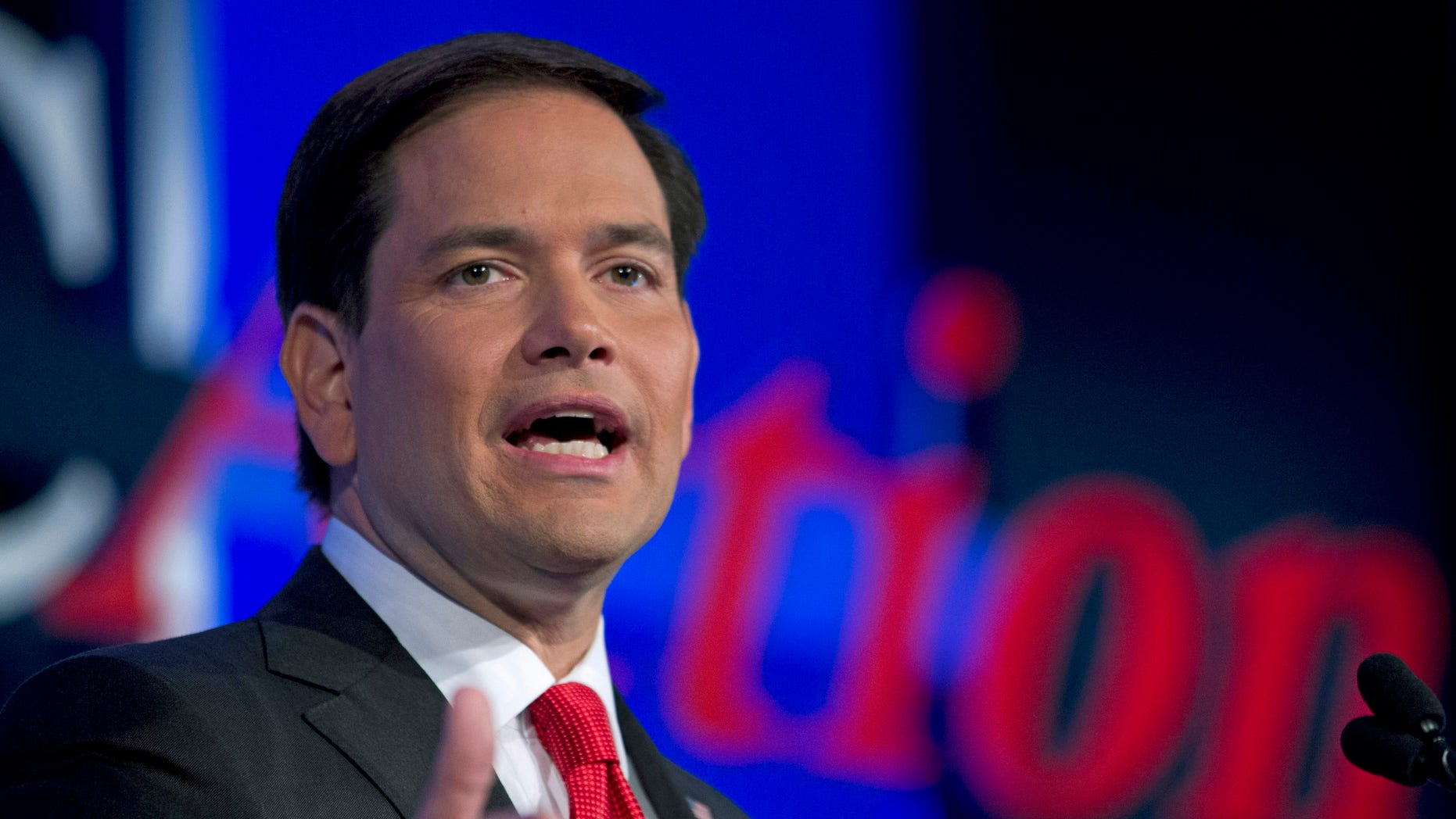 Former Republican presidential candidate Sen. Marco Rubio, R-Fla. on Sept. 25, 2015, in Washington, D.C.