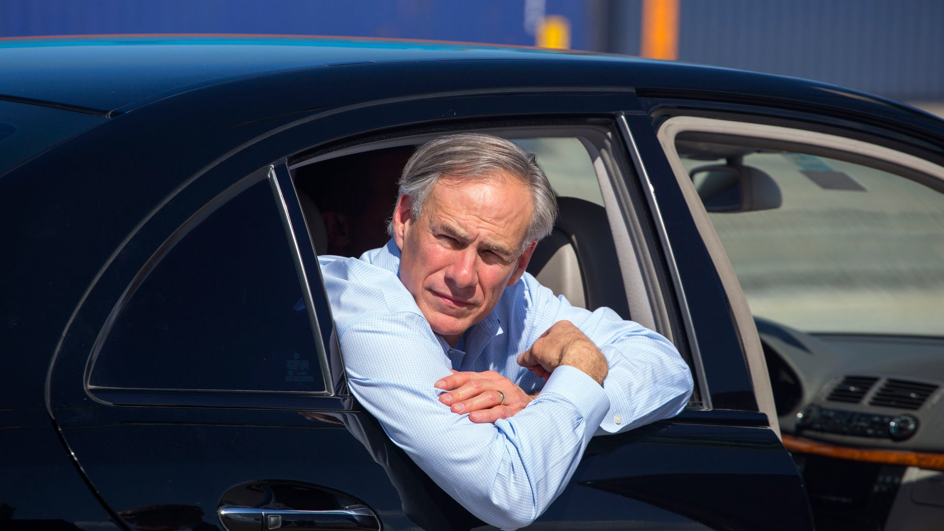 Texas Gov. Greg Abbott visits Cuba's Special Development Zone of Mariel, Dec. 1, 2015.