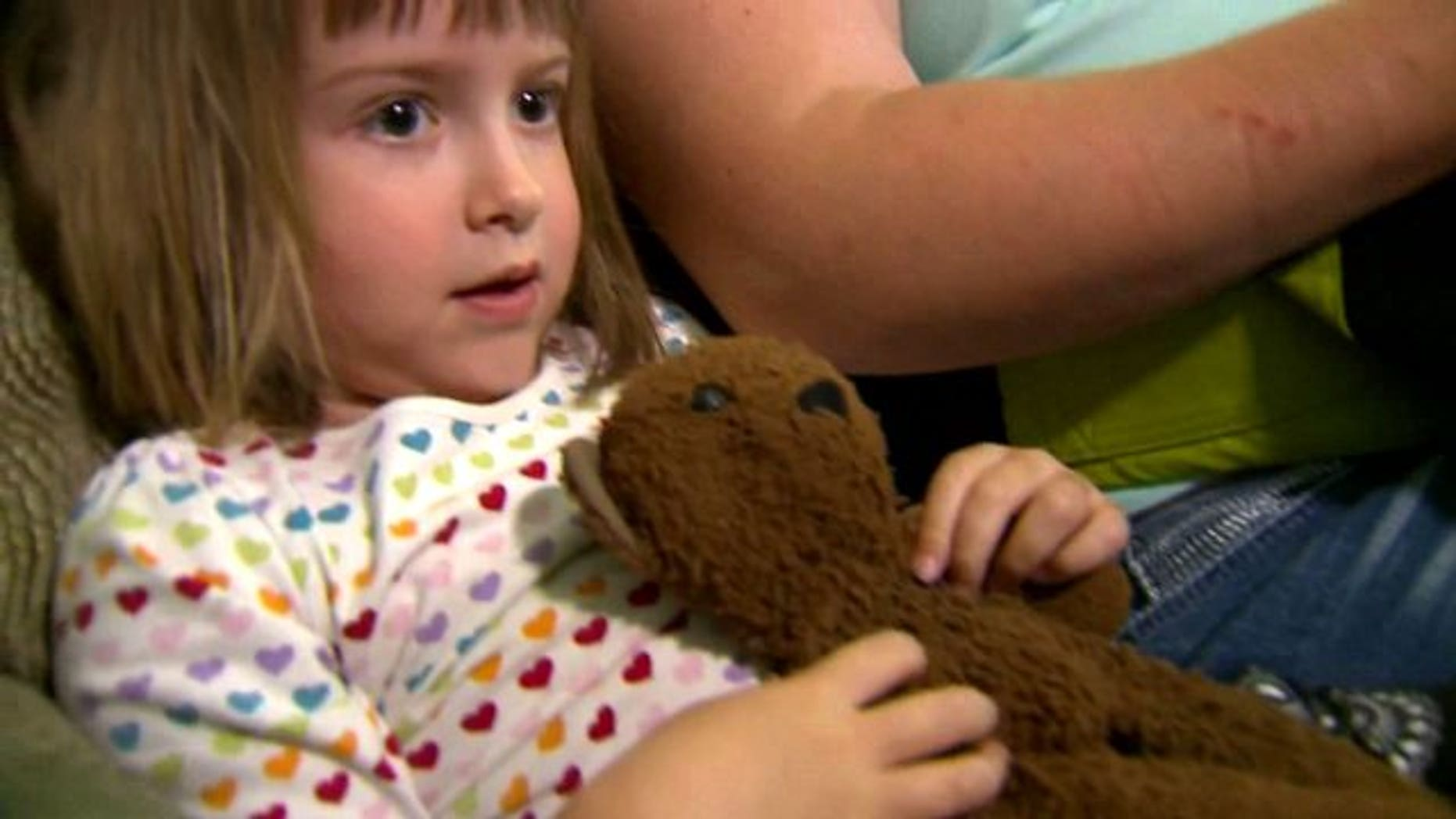 """4-year-old Abby said the day her house was robbed was """"the worst day in my life."""" Her testimony later helped police solve the case (Courtesy Q13Fox.com)"""