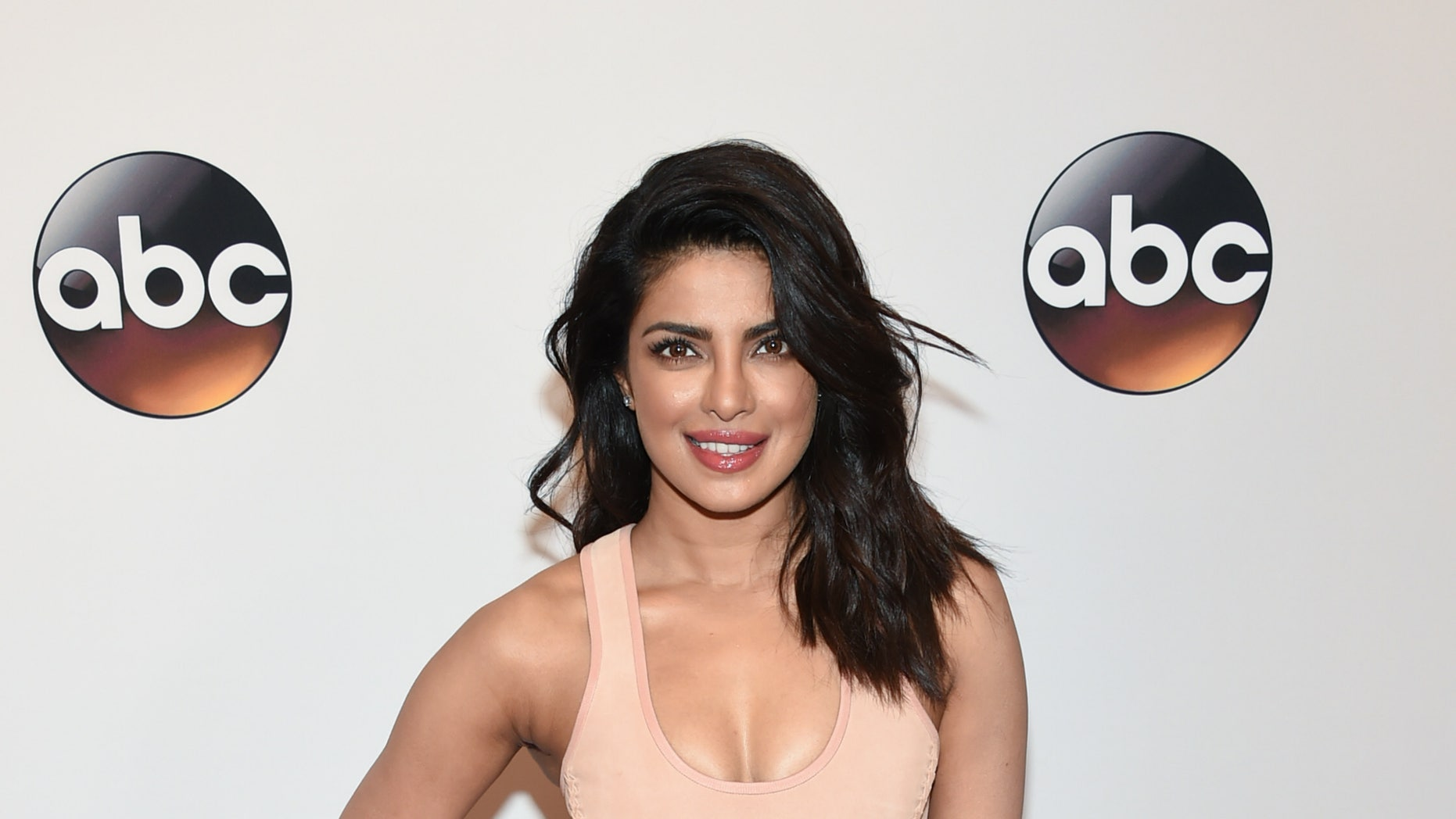 Actress Priyanka Chopra attends the ABC 2016 Network Upfront Presentation at David Geffen Hall on Tuesday, May 17, 2016, in New York. (Photo by Evan Agostini/Invision/AP)