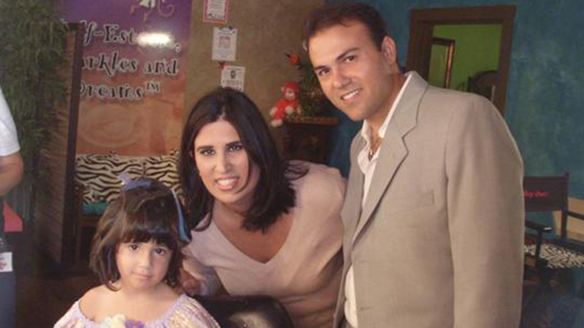 Saeed Abedini has not been with his wife and children for more than a year. (Courtesy: ACLJ)
