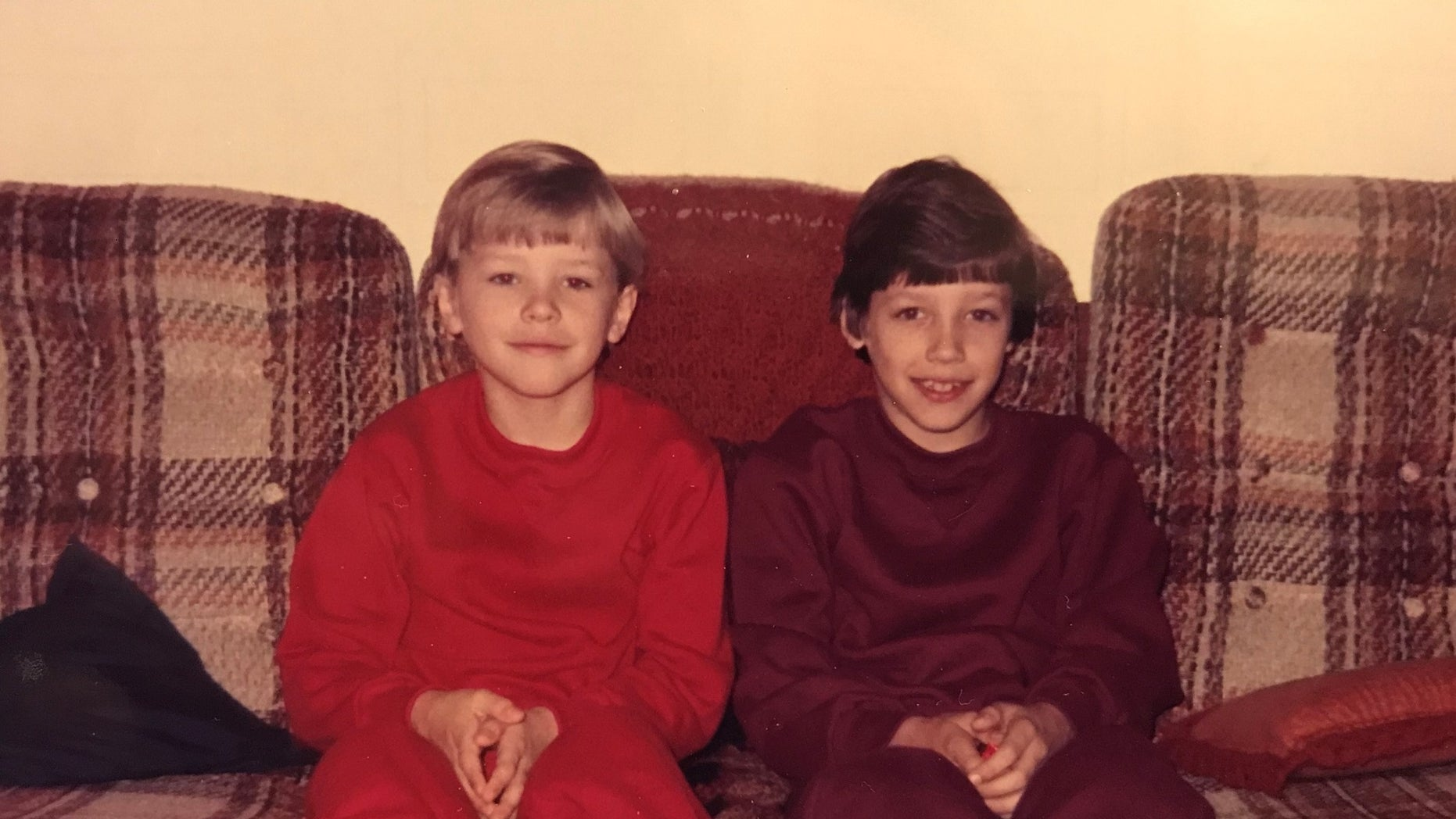 Joshua Rogers and his brother Caleb.