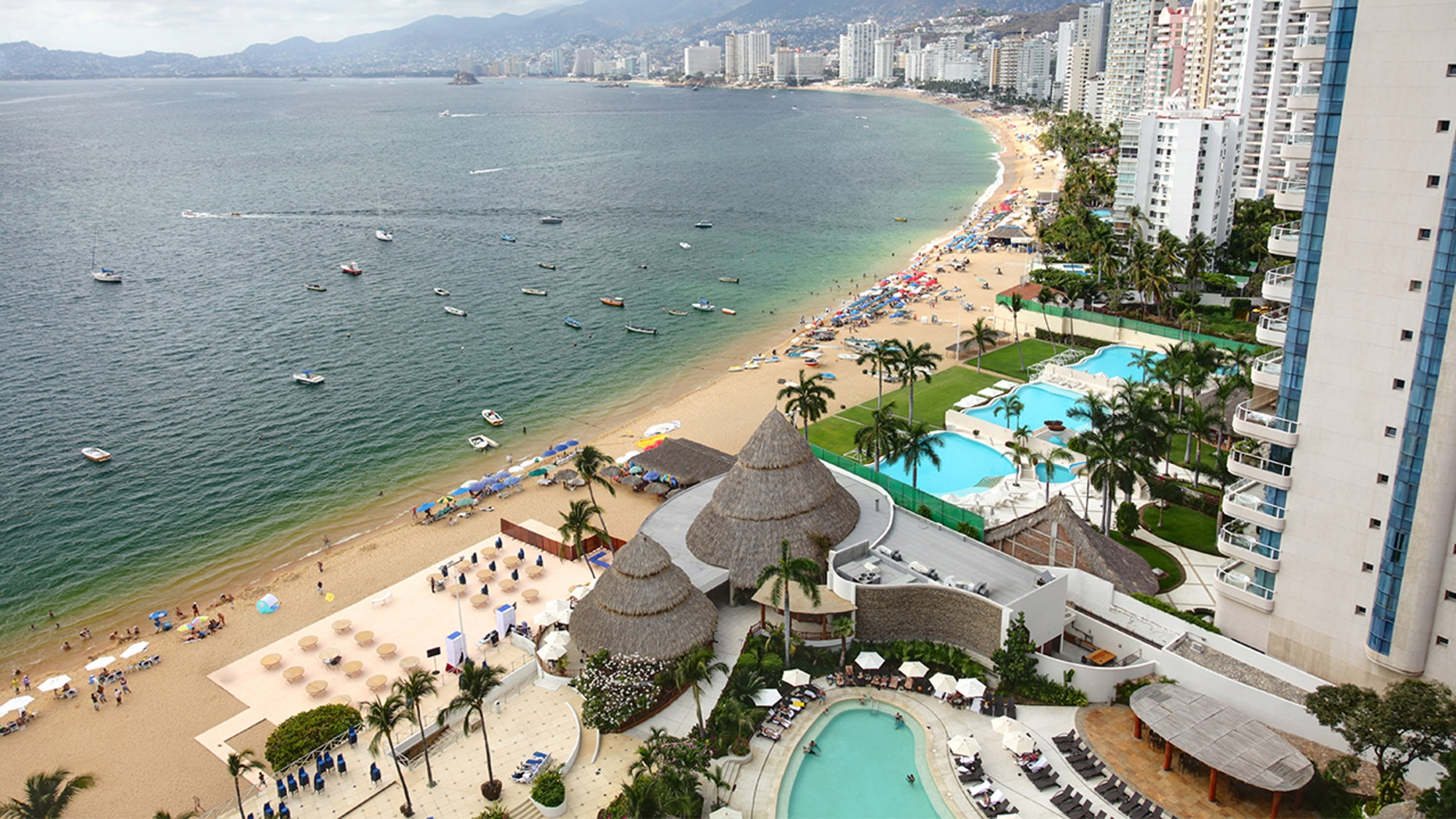 The resort town of Acapulco along the Southwest coast of Mexico has made a name for itself as one of the country's most dangerous places to visit.