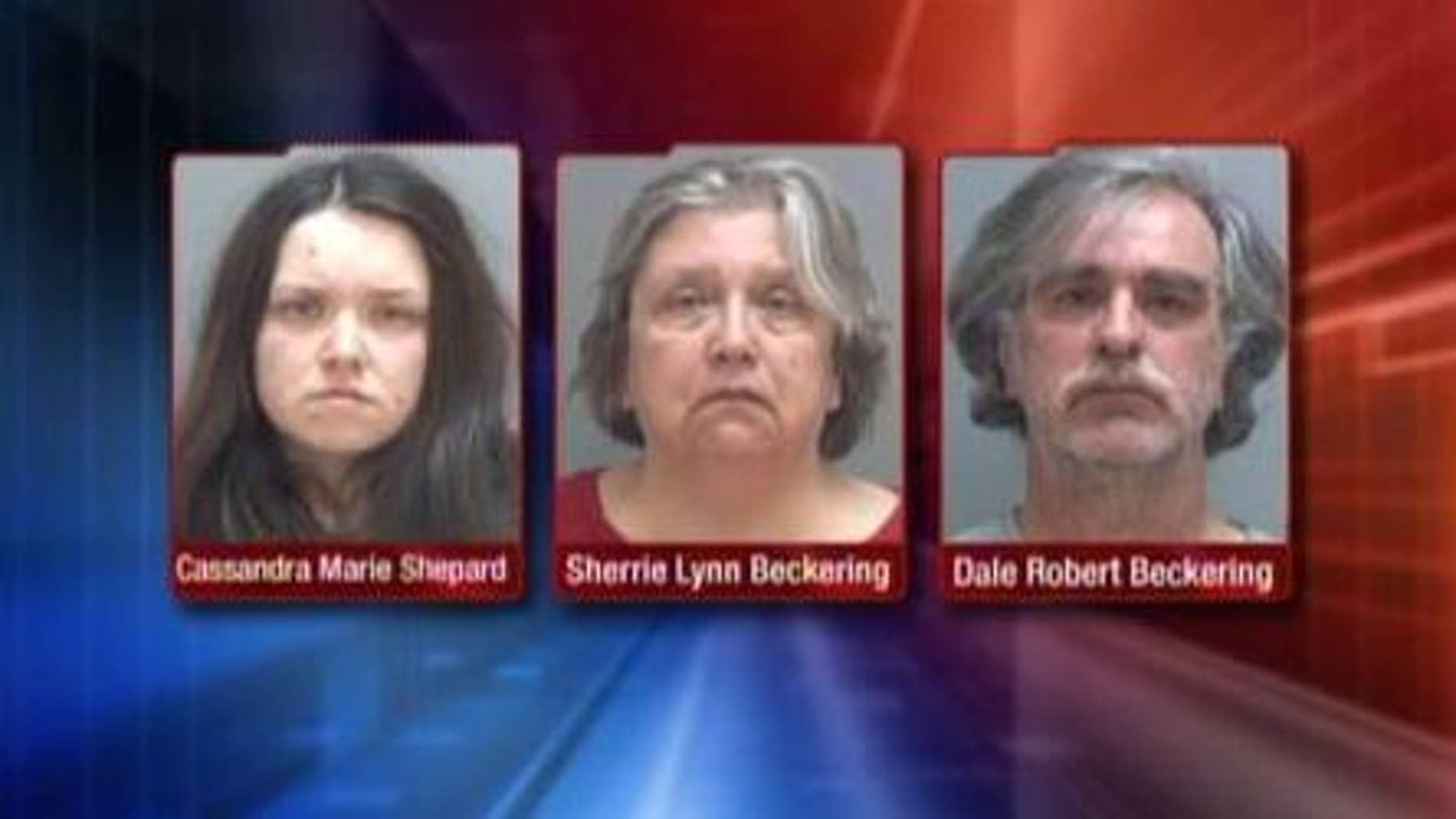 Police have arrested three people in connection to an unusual abuse and murder of a disabled woman in Kearns, Utah.