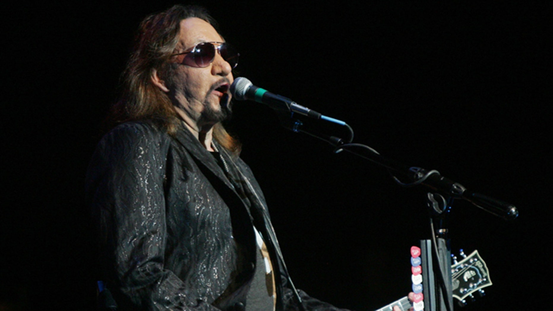 April 15, 2016. Ace Frehley, singer, musician and former member of KISS, preforms at the FM Kirby center in Wilkes Barre, Pa.