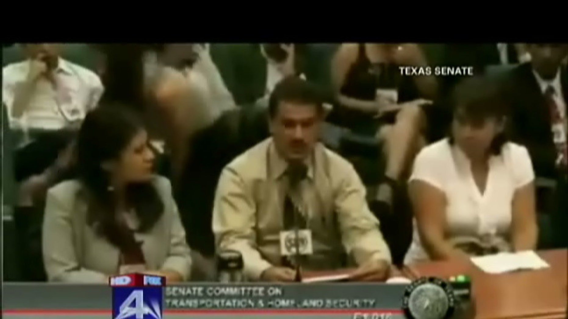 """A Texas state senator angrily criticized a man for giving his testimony in Spanish during a committee hearing in Austin on Monday, telling the man to """"speak English."""""""