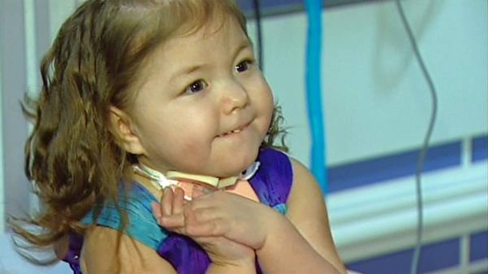 Adalynn Willett left Cook Children's Medical Center in Fort Worth after spending the first 850 days of her life in the hospital.