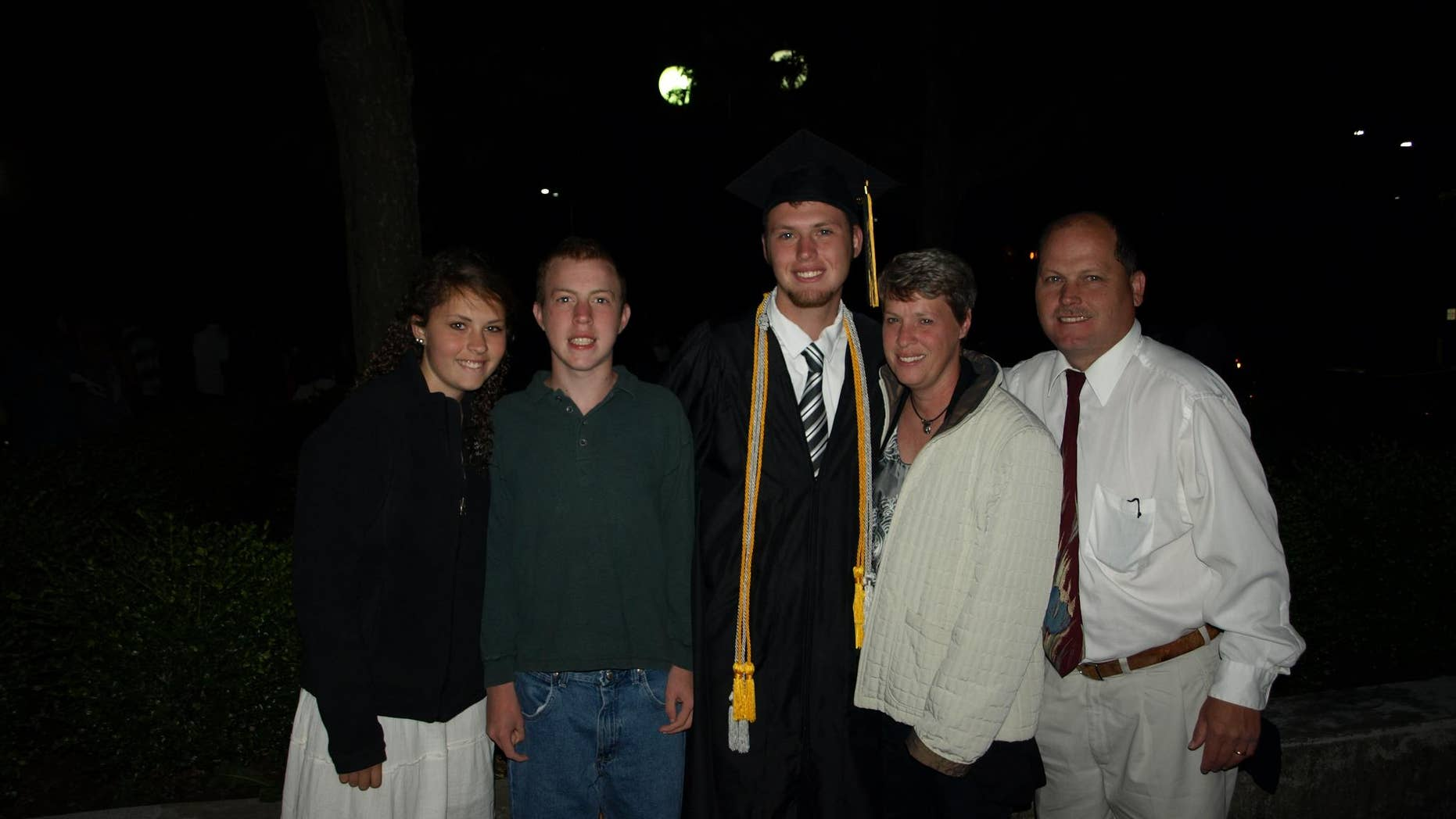 Adam Recke, pictured second from the left, suffers from Type C Niemann-Pick, a fatal neurodegenerative disorder, often called Childhood Alzheimer's.