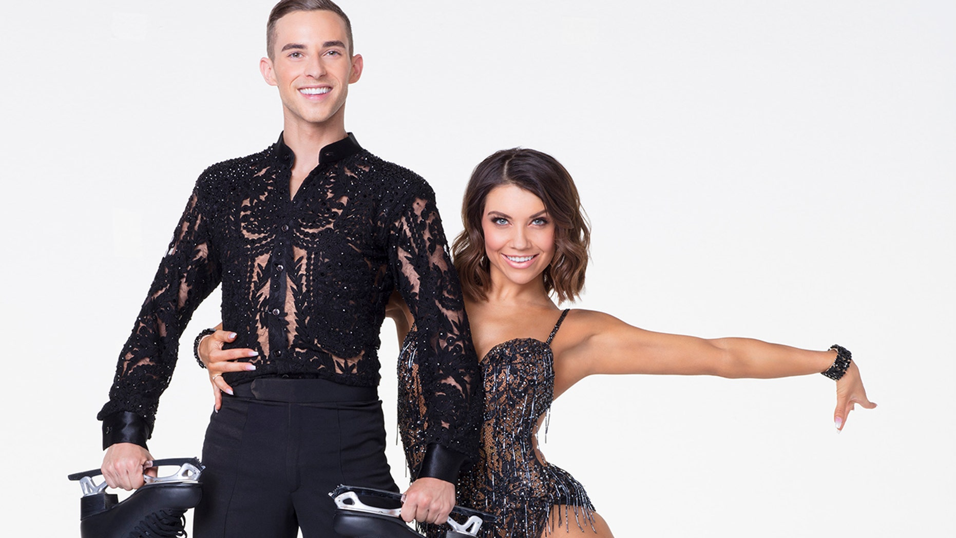 Adam Rippon, Jenna Johnson (ABC/Craig Sjodin)
