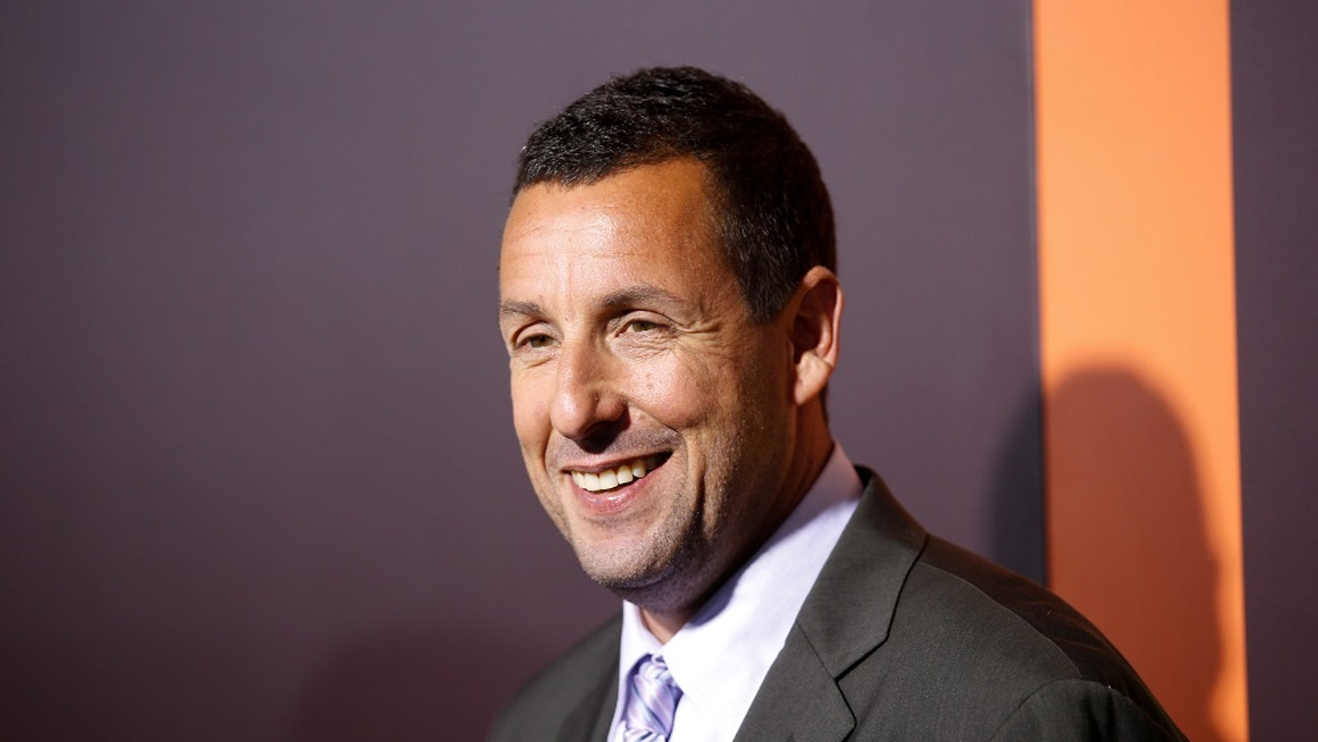 Actor Adam Sandler surprised a happy couple on their wedding day in Montreal in late June.