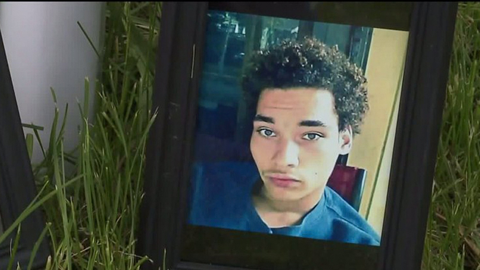 Police officers used a stun gun on Adam Trammell last year.