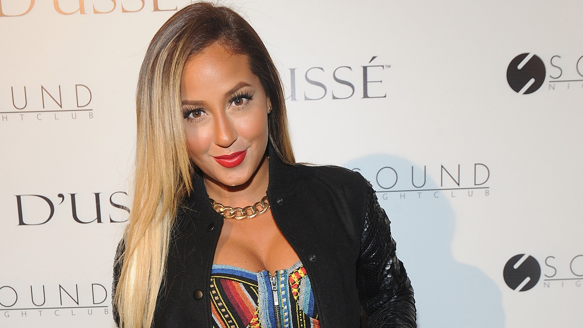 NEW YORK, NY - JULY 27:  Adrienne Bailon attends the After Party at Sound Night club on July 27, 2013 in New York City.  (Photo by Brad Barket/Getty Images)