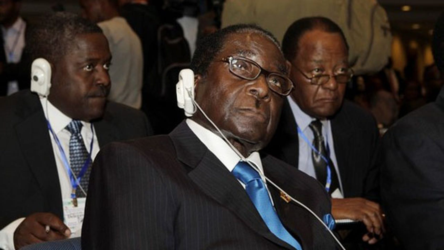 Zimbabwe's President Robert Mugabe attends the 16th African Union summit in Ethiopia's capital Addis Ababa Jan. 30.