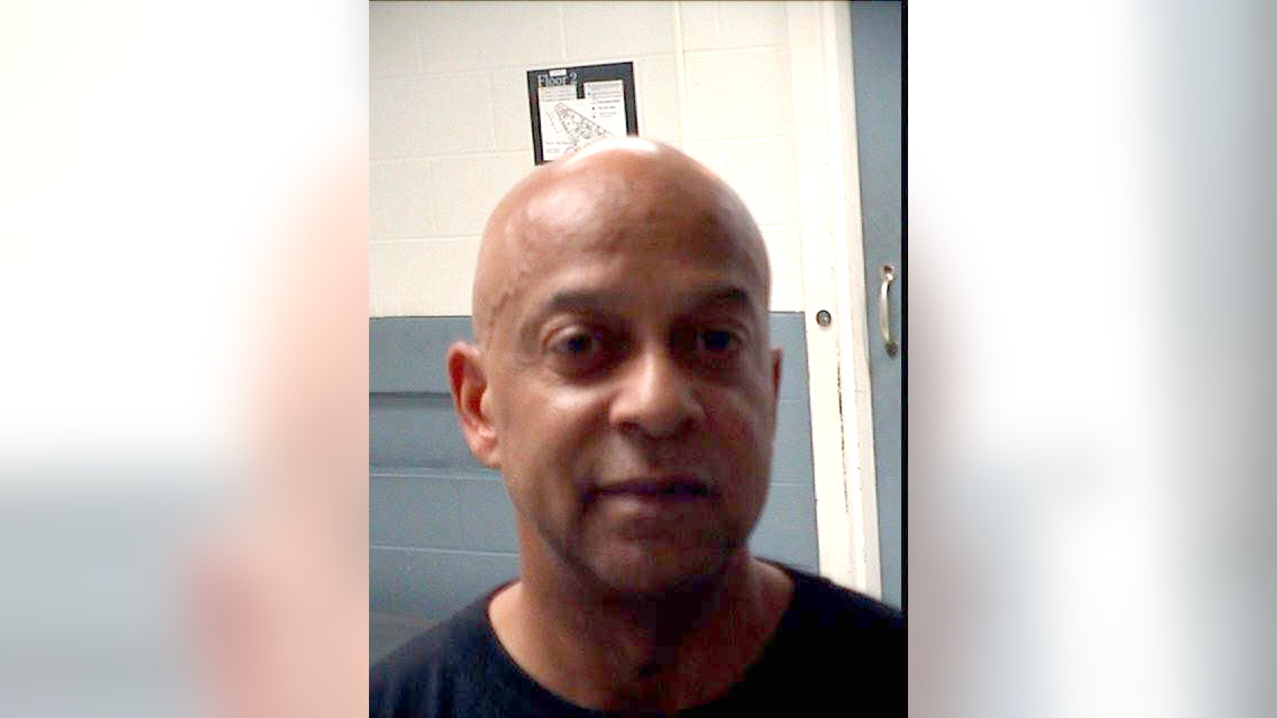 DeKalb County Sheriff Jeffrey Mann is seen in an undated photo provided by the Atlanta Department of Corrections. Mann was arrested Saturday, May 7, 2017, on indecency, obstruction charges after he exposed himself to a police officer in an Atlanta park and then led the officer on a foot chase, according to a police report. (Atlanta Department of Corrections via AP)