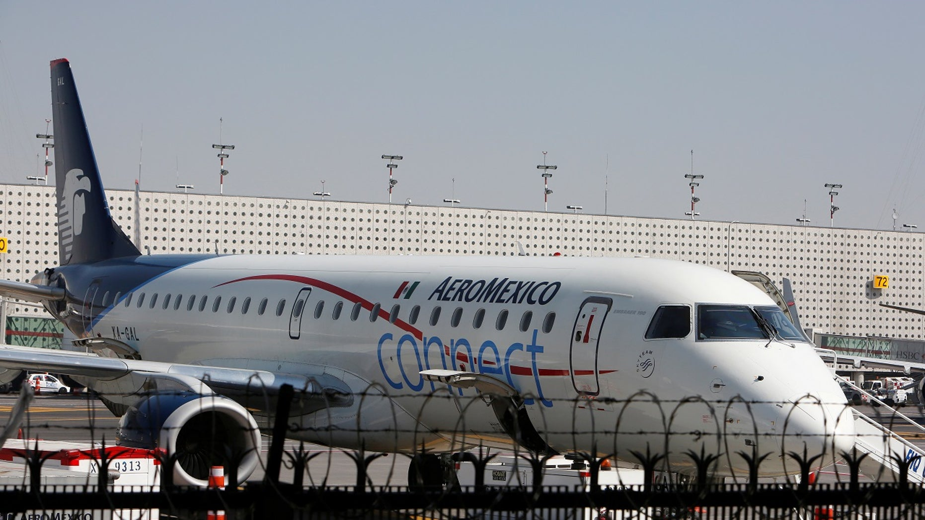 "Two ""unruly"" passengers were arrested after becoming desperate when their Aeromexico plane was stranded on the Oakland airport tarmac for four hours on Thursday, authorities said. (Reuters file photo)"