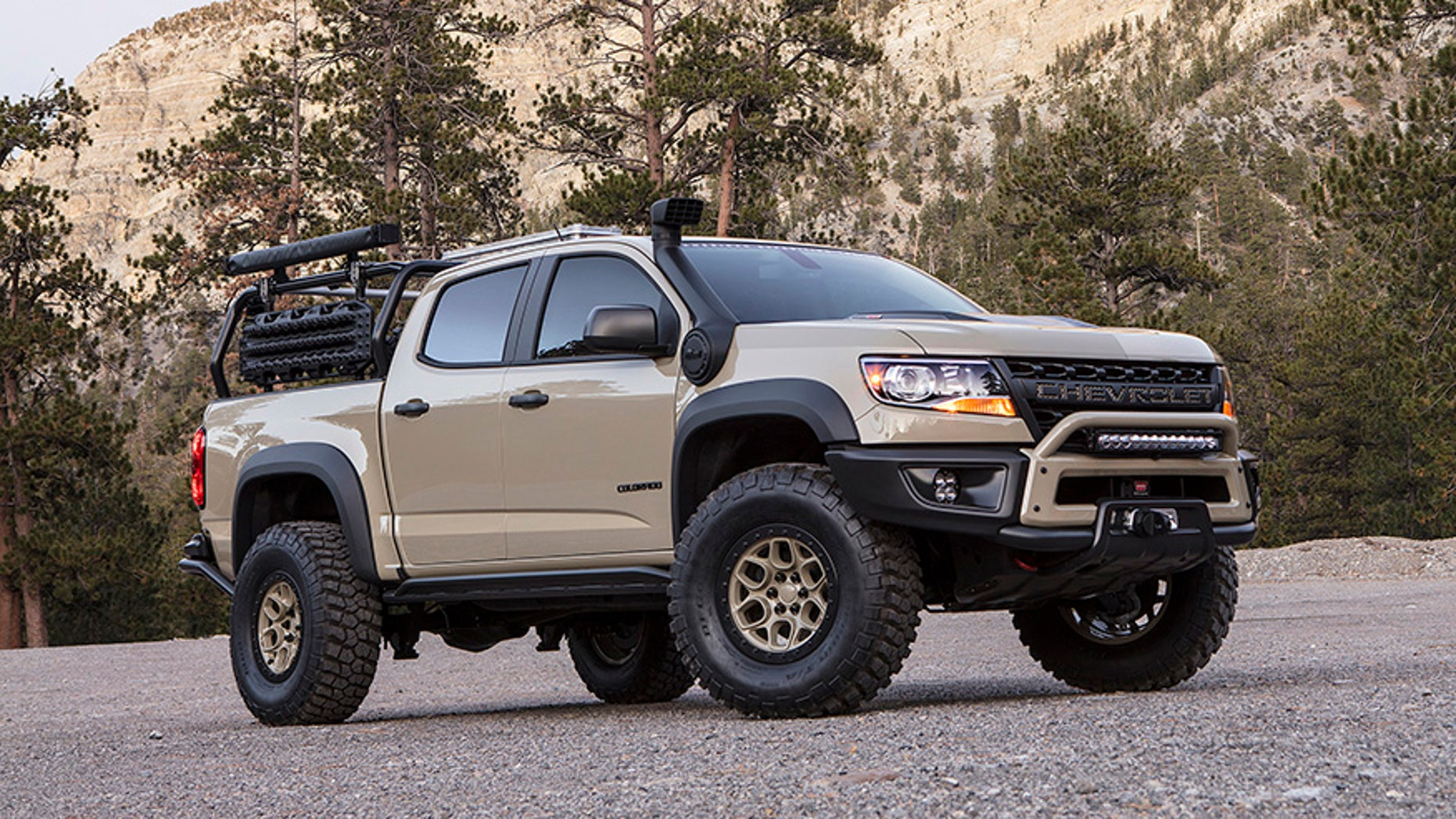 The Chevrolet Colorado Zr2 Aev Is Ready For Adventure Fox News