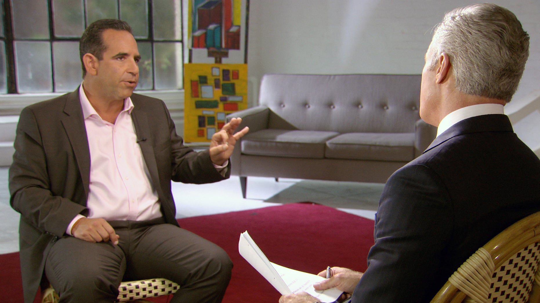 In this undated image taken from video and provided by CBS, Biogenesis founder Anthony Bosch talks about providing banned substances to Alex Rodriguez during a interview in New York that will air on the 60 Minutes broadcast Sunday, Jan. 12, 2014. On Saturday, Jan. 11, 2014 an arbitrator ruled that the NY Yankees' third baseman will have to sit out 162 games for his illegal use of performance enhancing drugs. (AP Photo/CBS) MANDATORY CREDIT, NO SALES, NO ARCHIVE, FOR NORTH AMERICAN USE ONLY