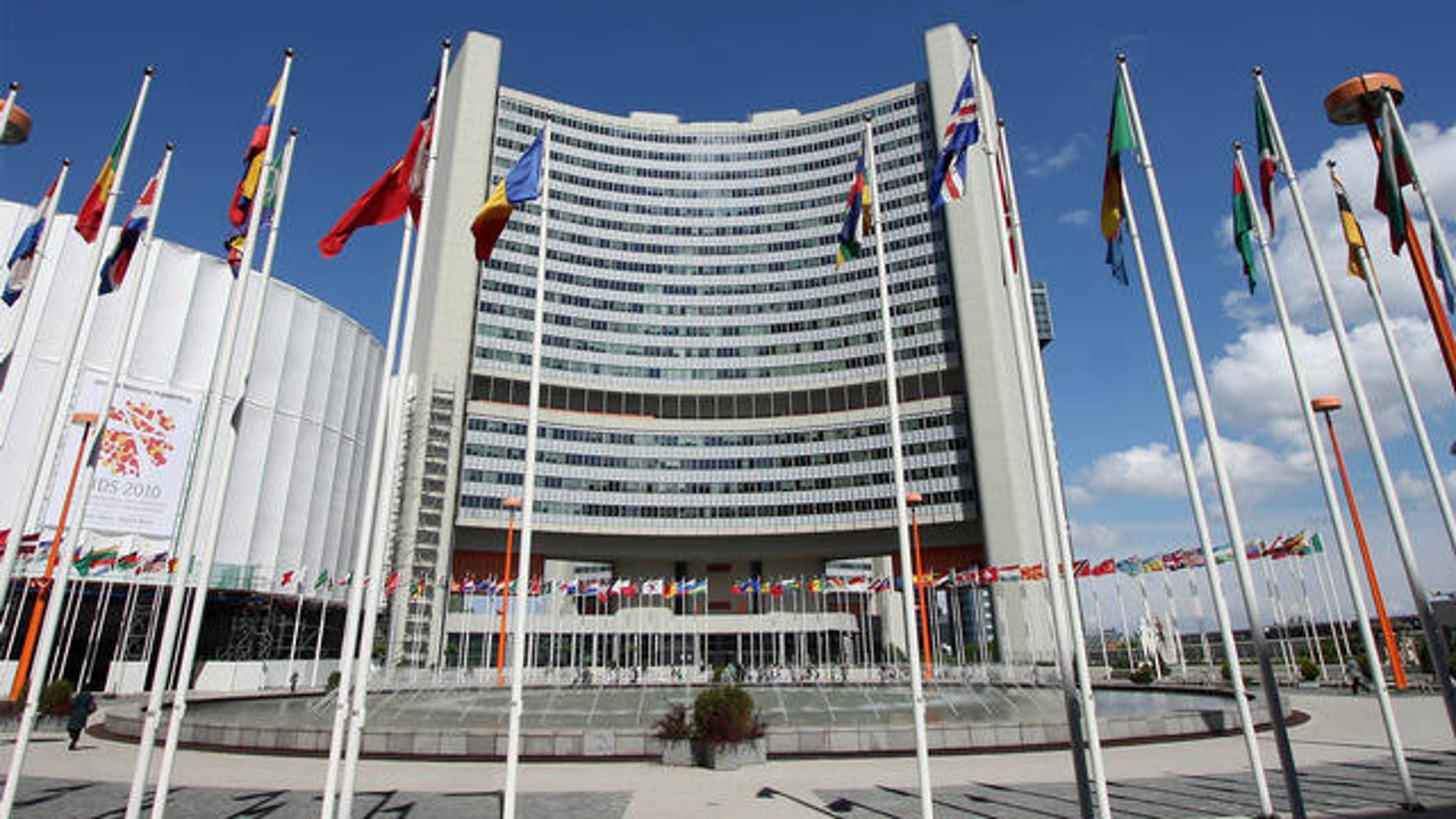 May 6: U.N. headquarters in Vienna, Austria.