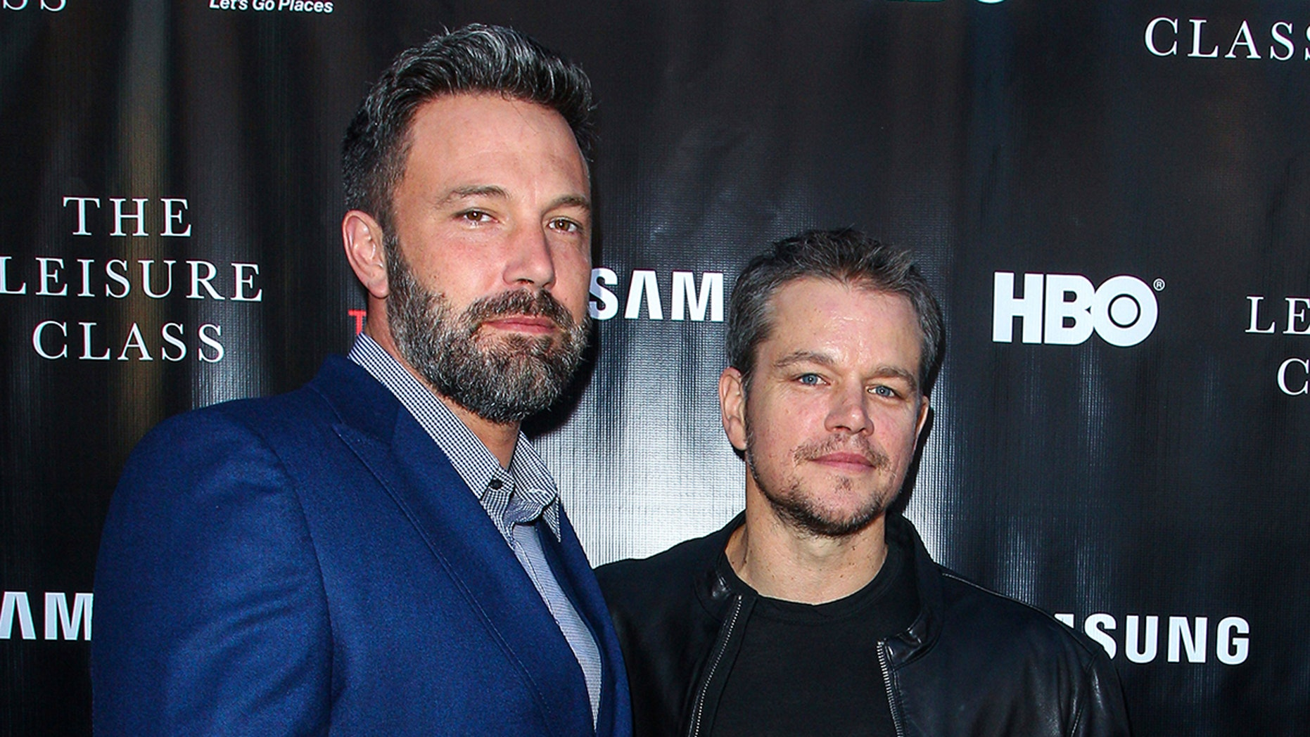 "Ben Affleck, left, and Matt Damon attend the ""Project Greenlight"" premiere of ""The Leisure Class"" in Los Angeles. Damon, Ben Affleck and Paul Feig are jumping on the inclusion rider bandwagon following Frances McDormand's Oscar acceptance speech."